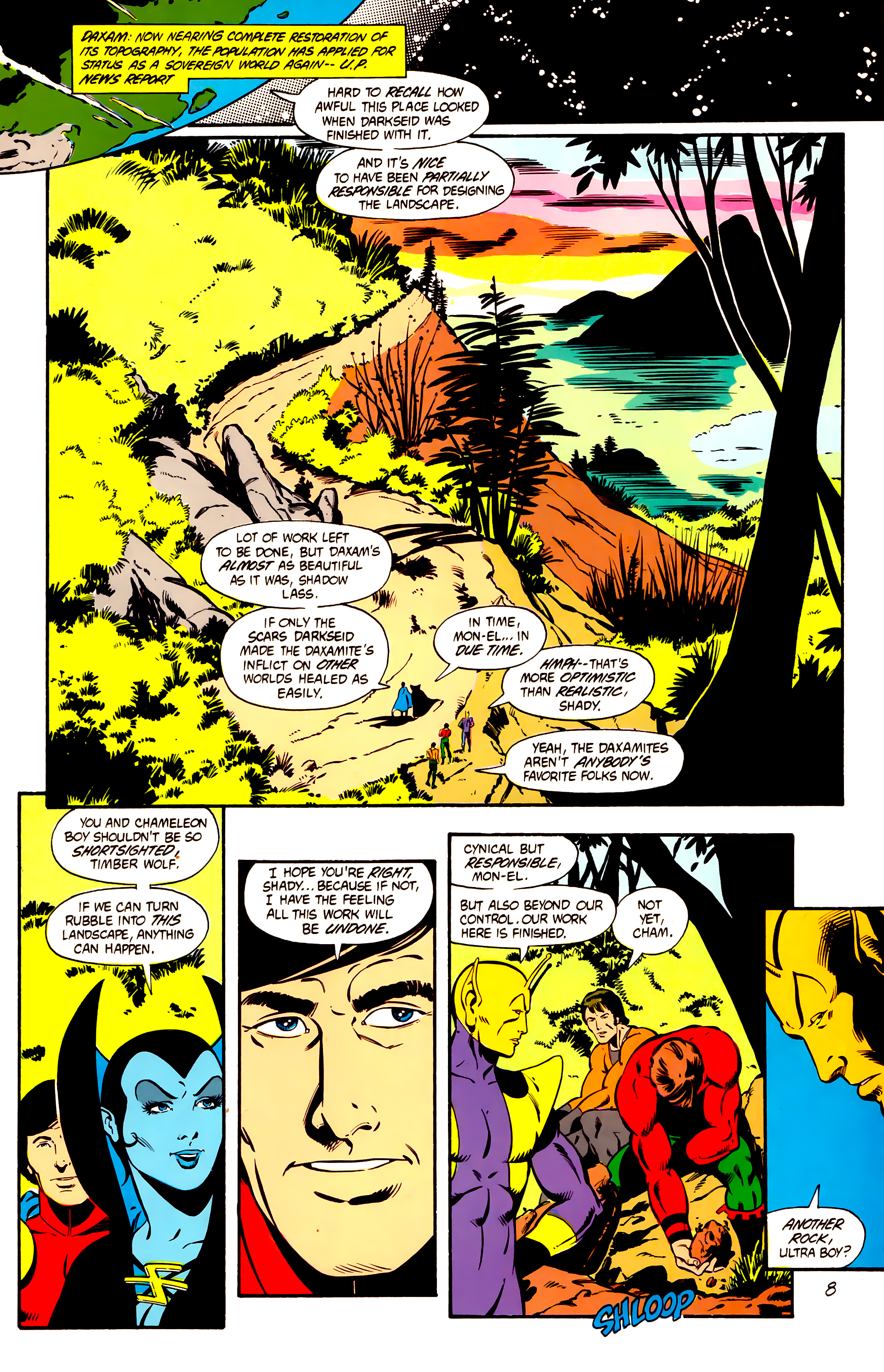 Legion of Super-Heroes (1984) 1 Page 9