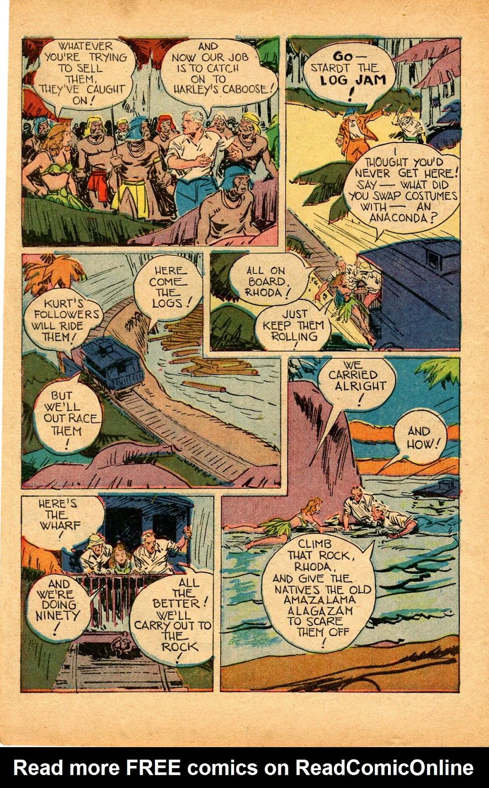 Read online Super-Magician Comics comic -  Issue #33 - 14