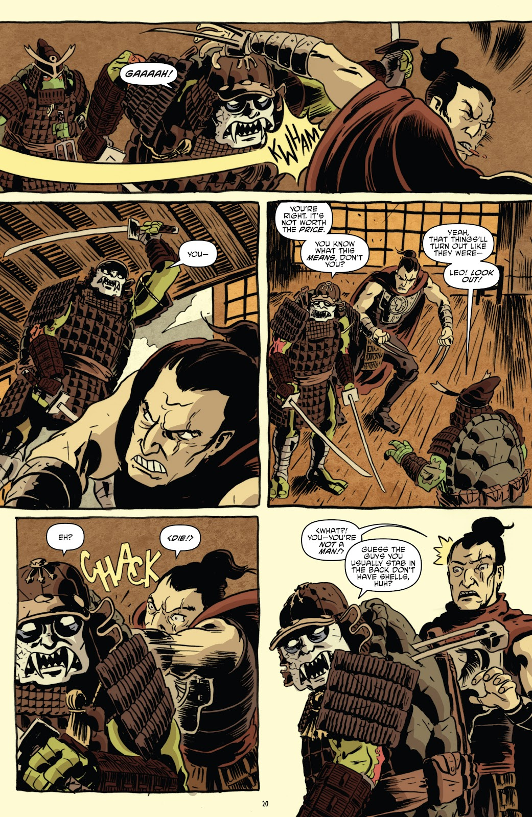 Read online Teenage Mutant Ninja Turtles: The IDW Collection comic -  Issue # TPB 5 (Part 1) - 50