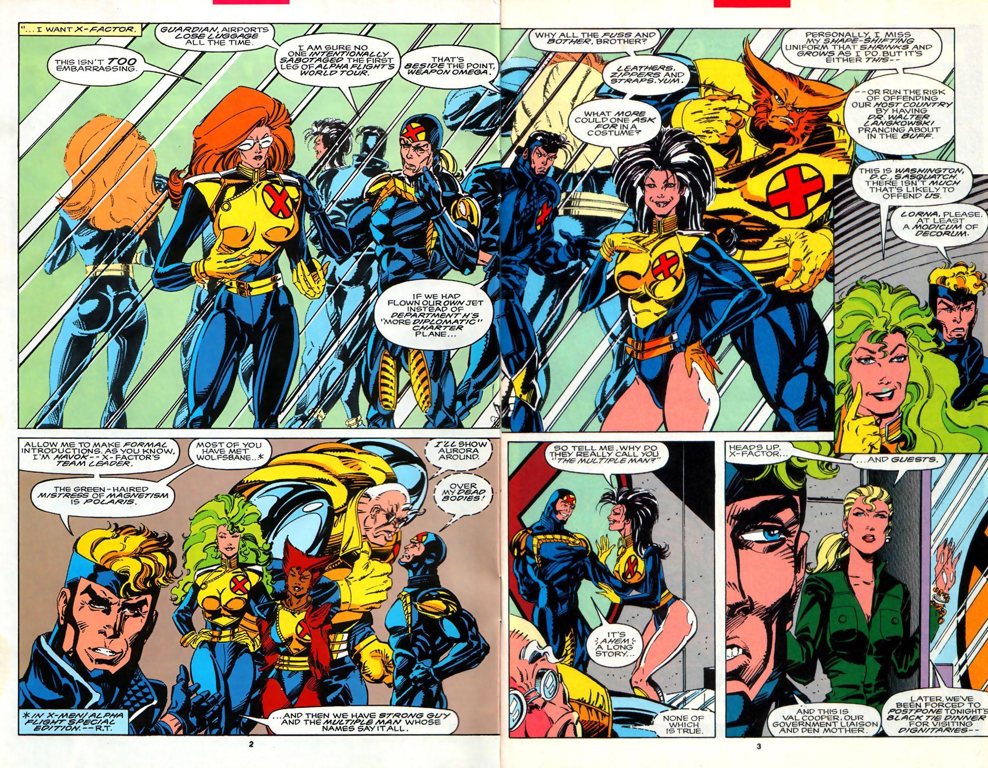 Read online Alpha Flight (1983) comic -  Issue #107 - 3