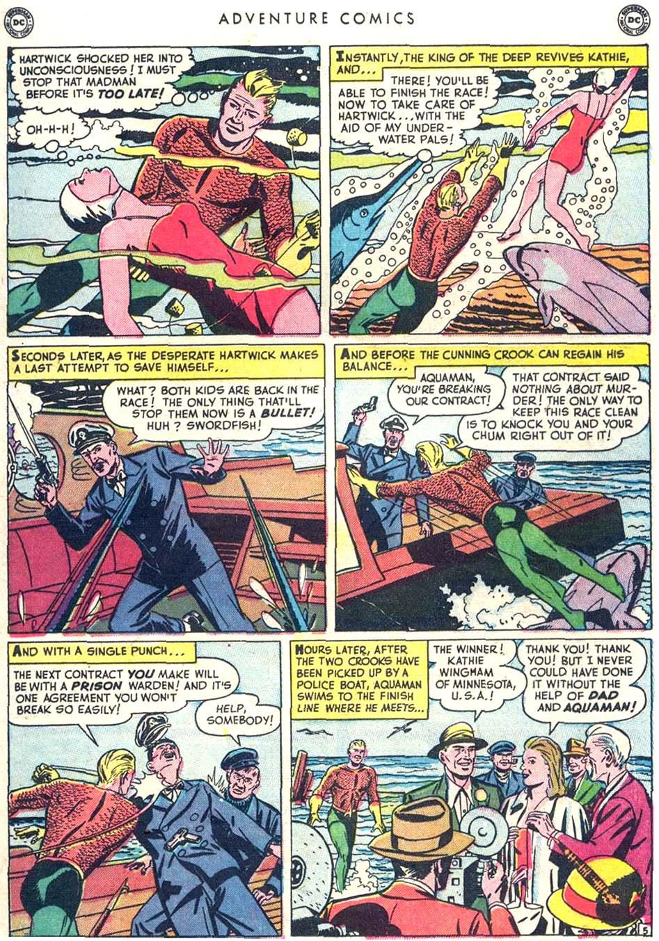 Read online Adventure Comics (1938) comic -  Issue #156 - 29
