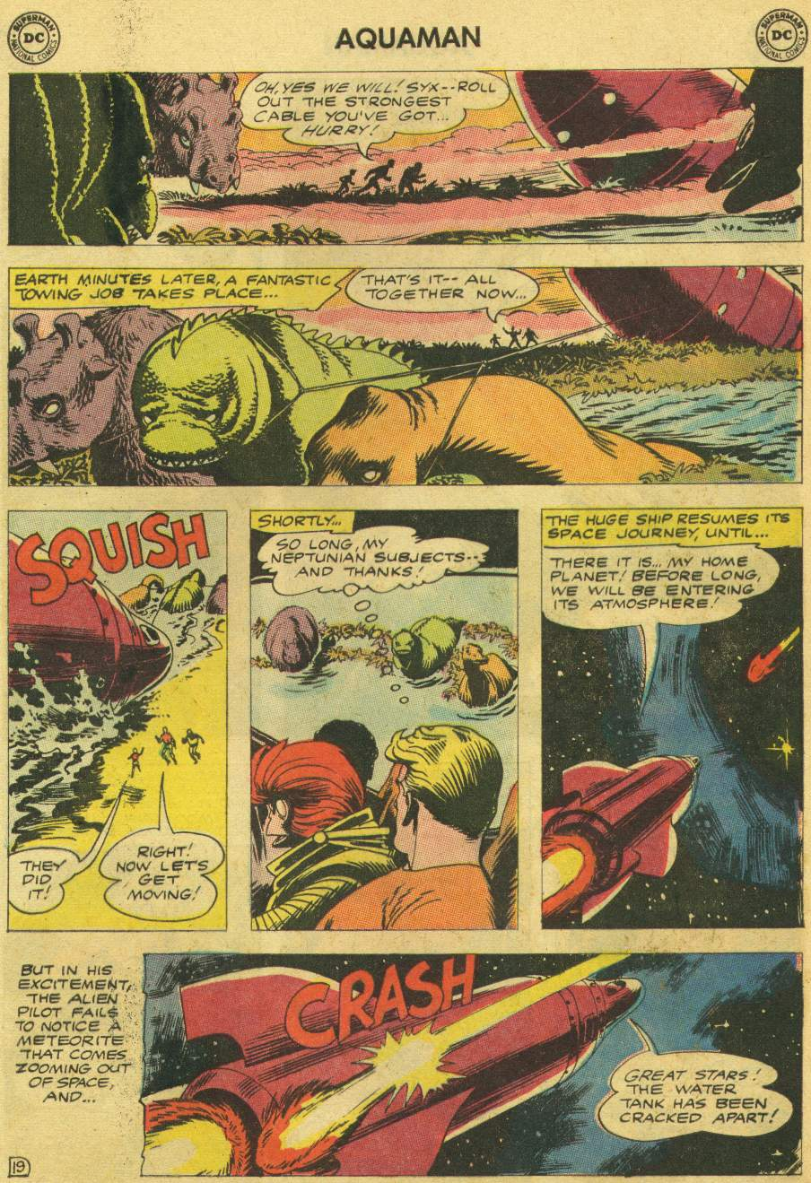 Read online Aquaman (1962) comic -  Issue #8 - 25