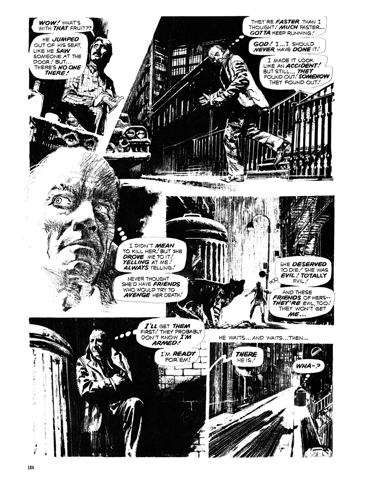 Read online Eerie Archives comic -  Issue # TPB 10 - 185