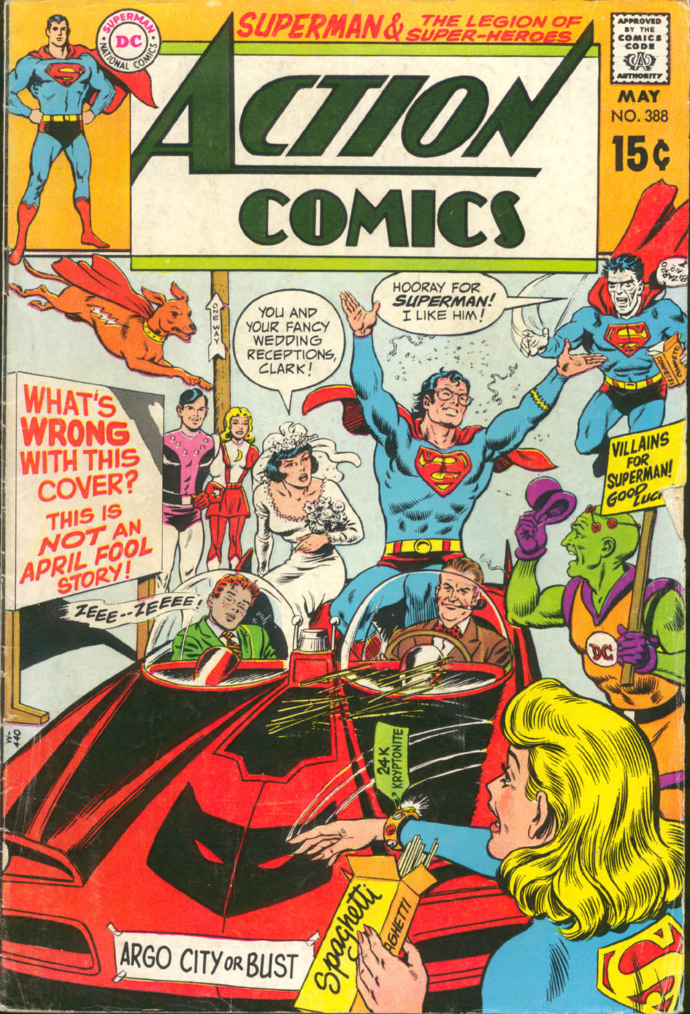 Read online Action Comics (1938) comic -  Issue #388 - 1