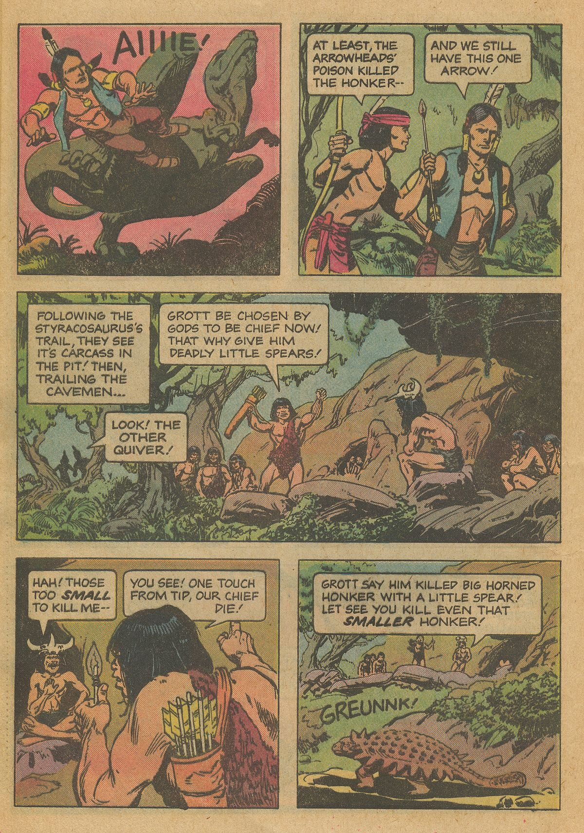 Read online Turok, Son of Stone comic -  Issue #126 - 28