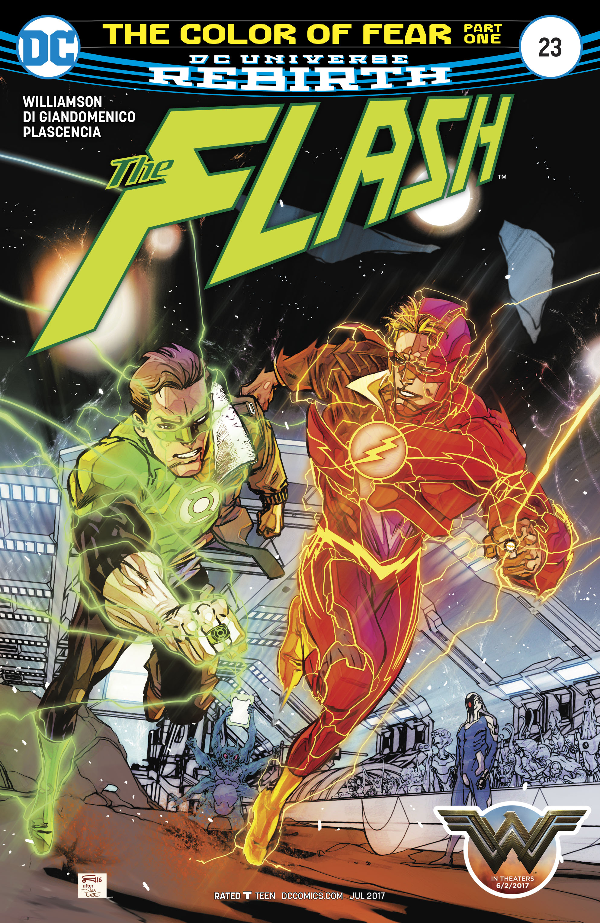 Read online The Flash (2016) comic -  Issue #23 - 1