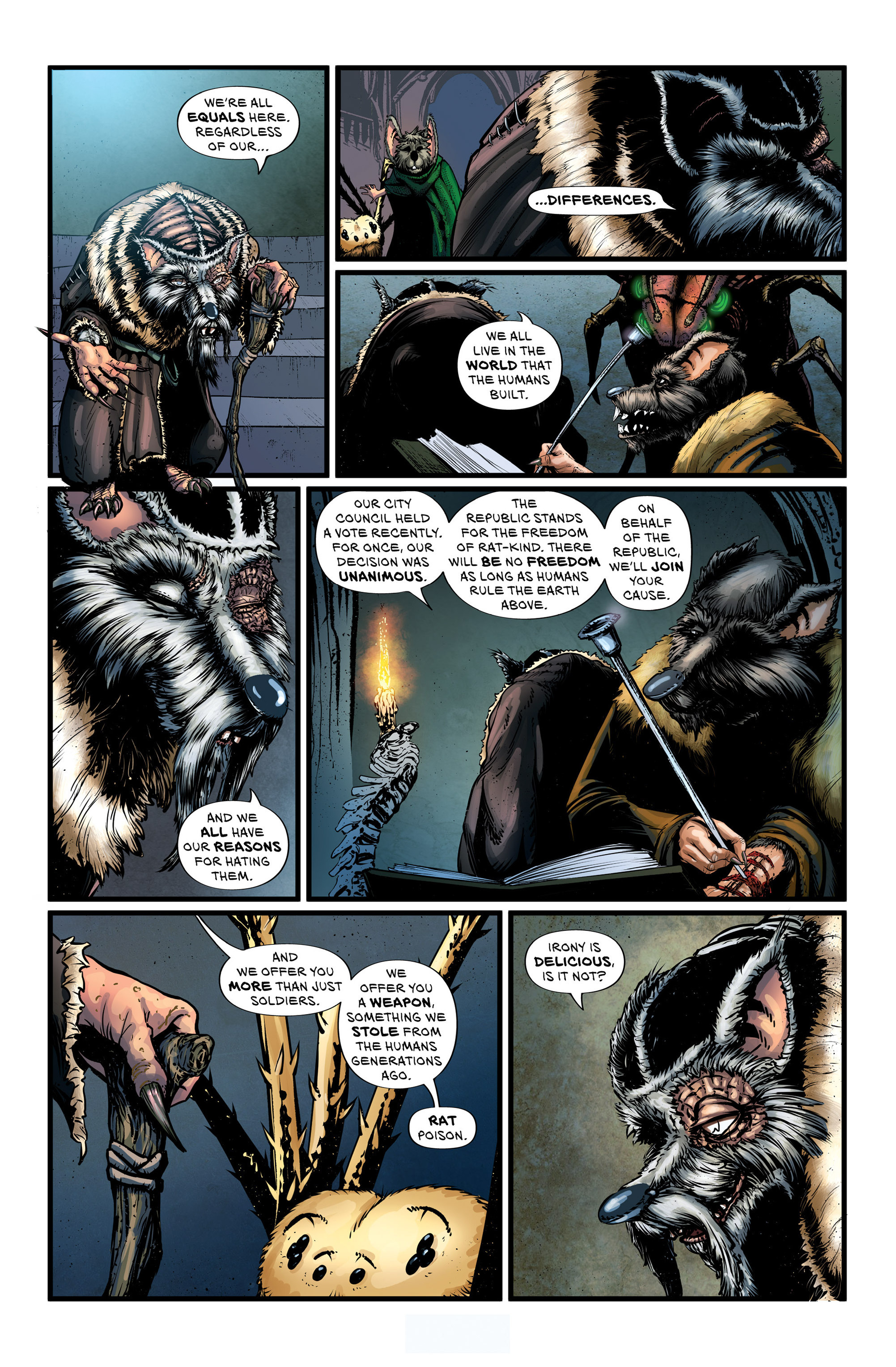 Read online Wretched Things comic -  Issue #3 - 11