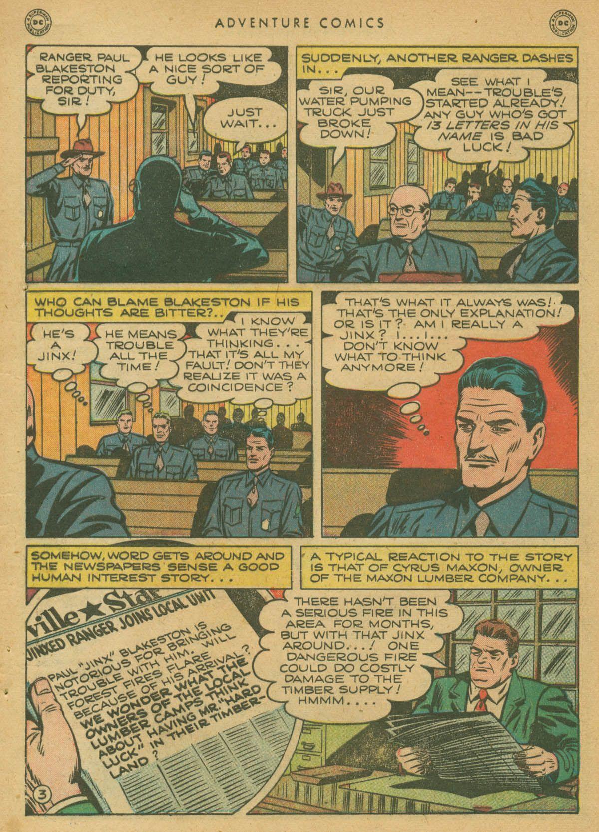 Read online Adventure Comics (1938) comic -  Issue #142 - 4