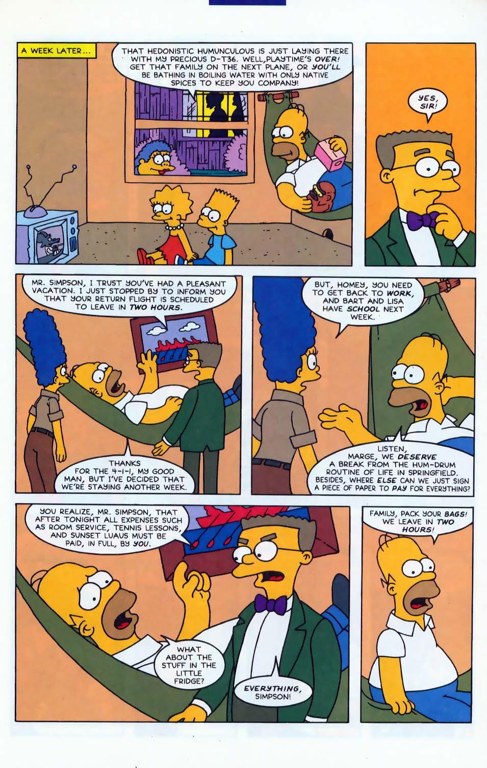 Read online Simpsons Comics comic -  Issue #10 - 18