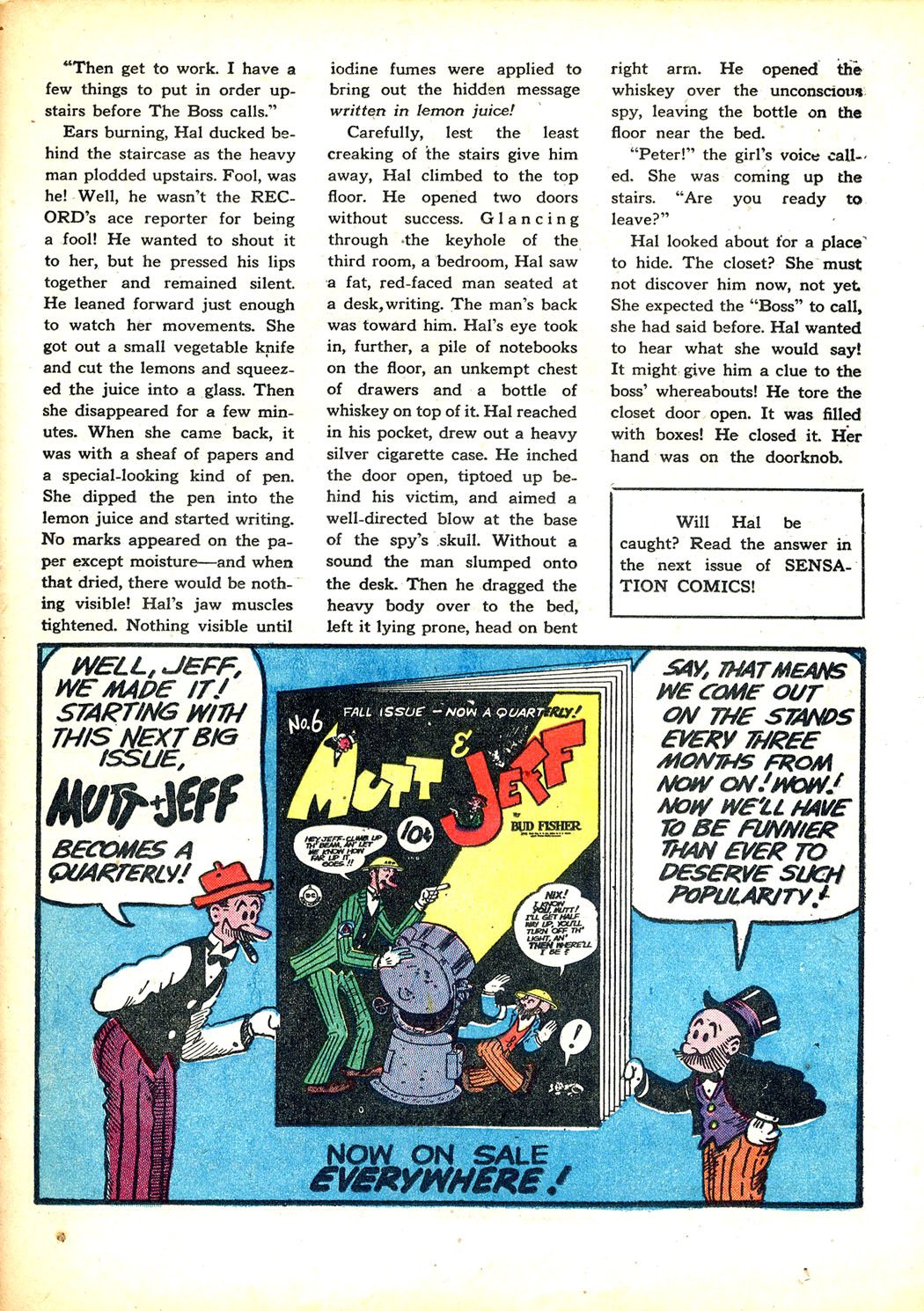 Read online Sensation (Mystery) Comics comic -  Issue #12 - 45