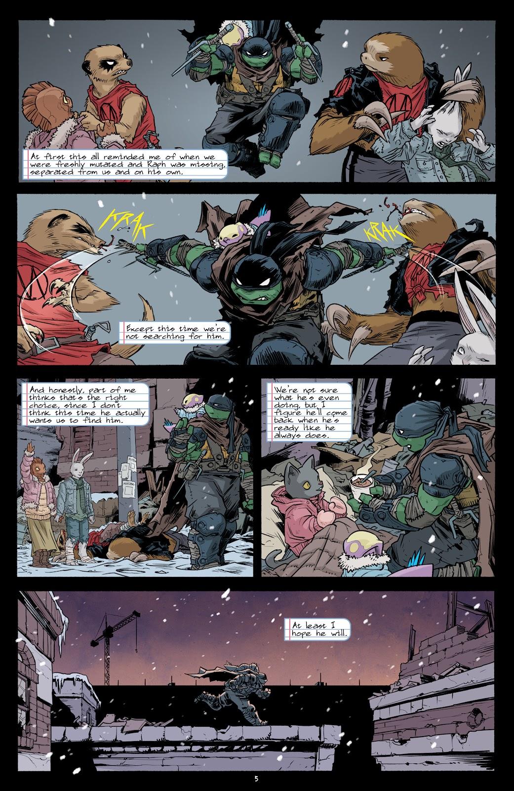 Read online Teenage Mutant Ninja Turtles (2011) comic -  Issue #101 - 7