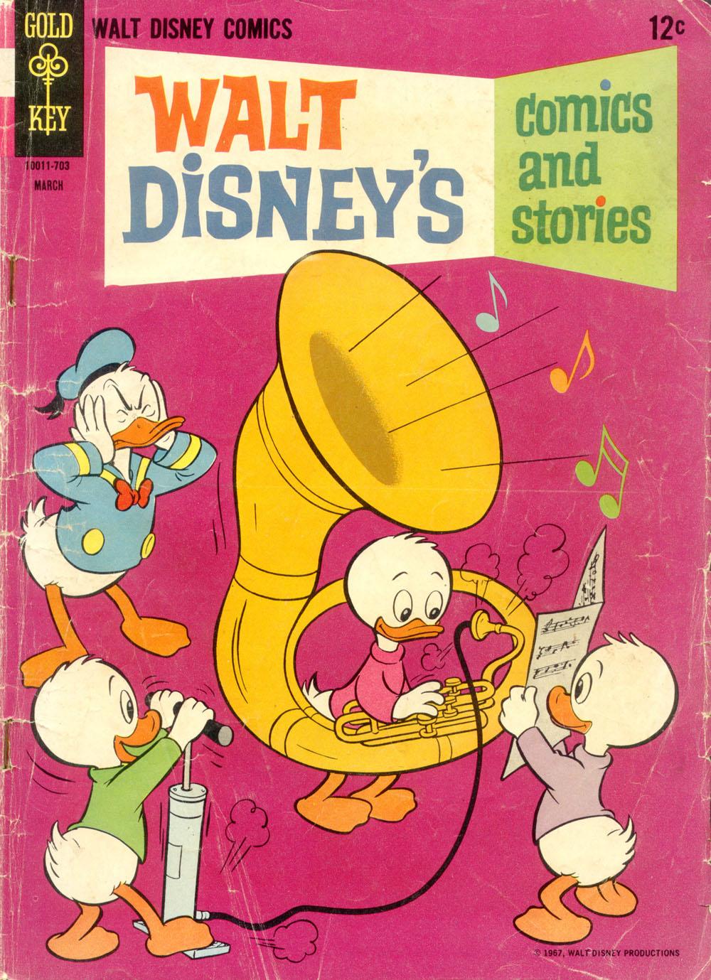 Walt Disneys Comics and Stories 318 Page 1