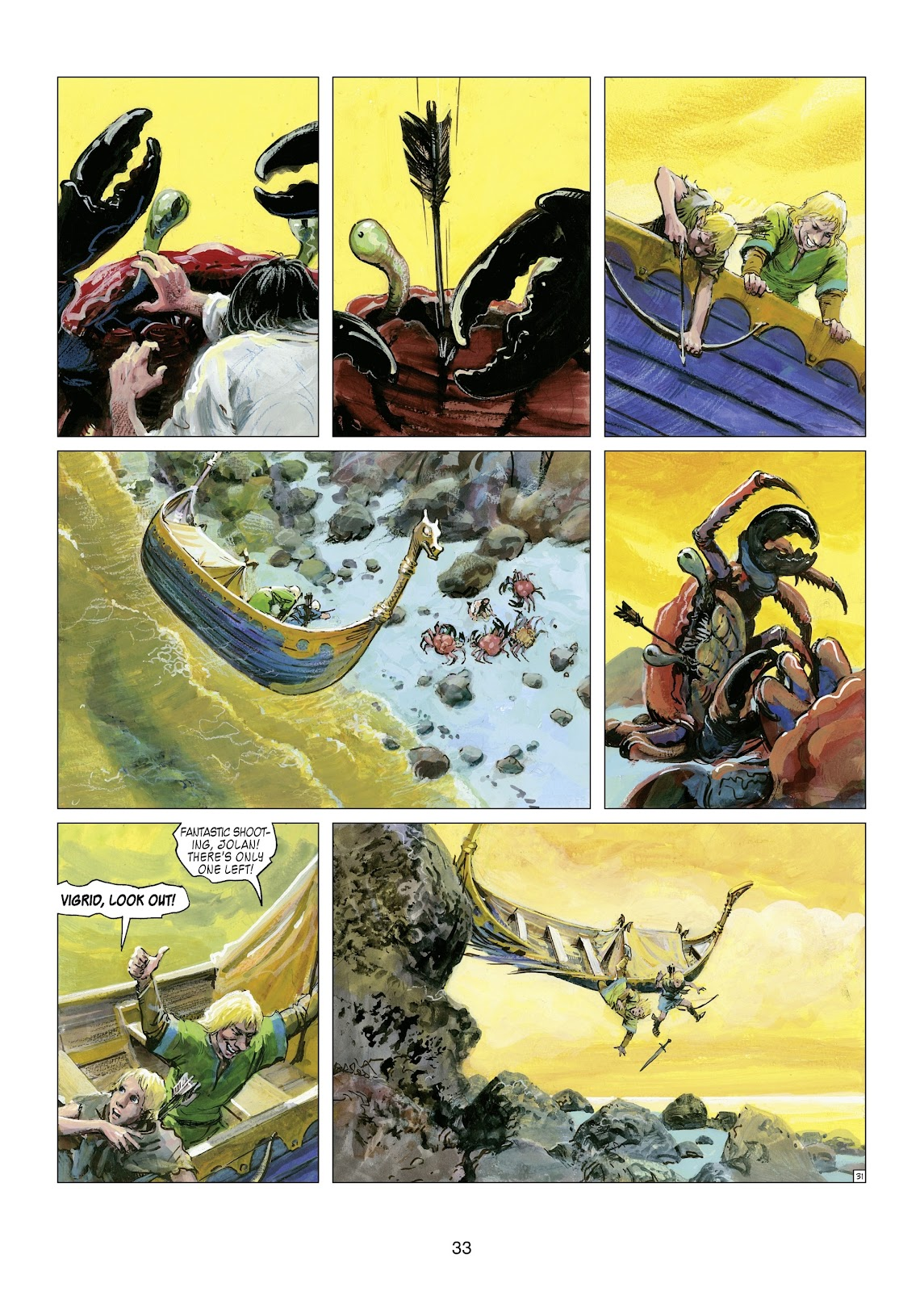 Read online Thorgal comic -  Issue #21 - 35