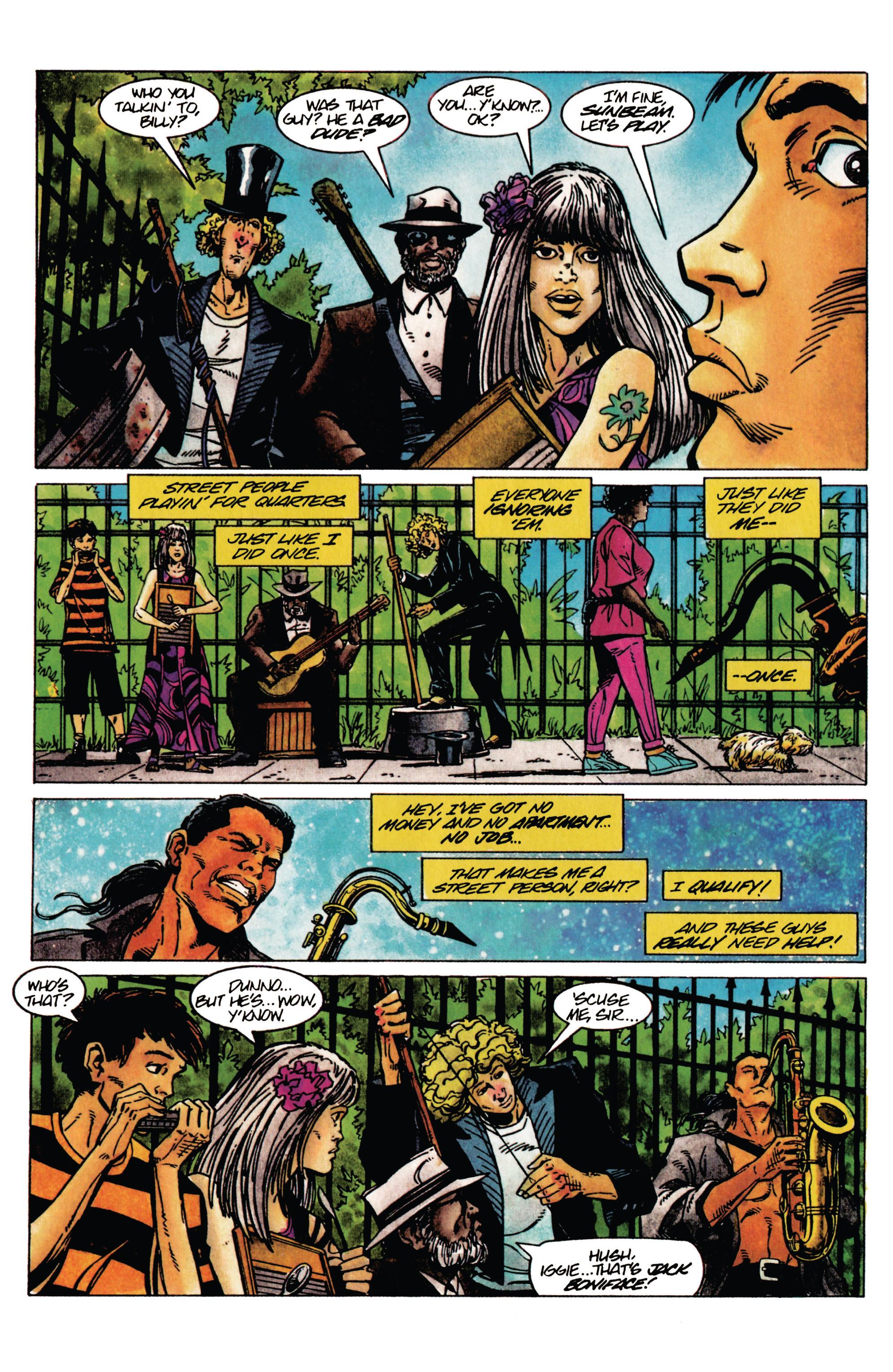 Read online Shadowman (1992) comic -  Issue #30 - 7