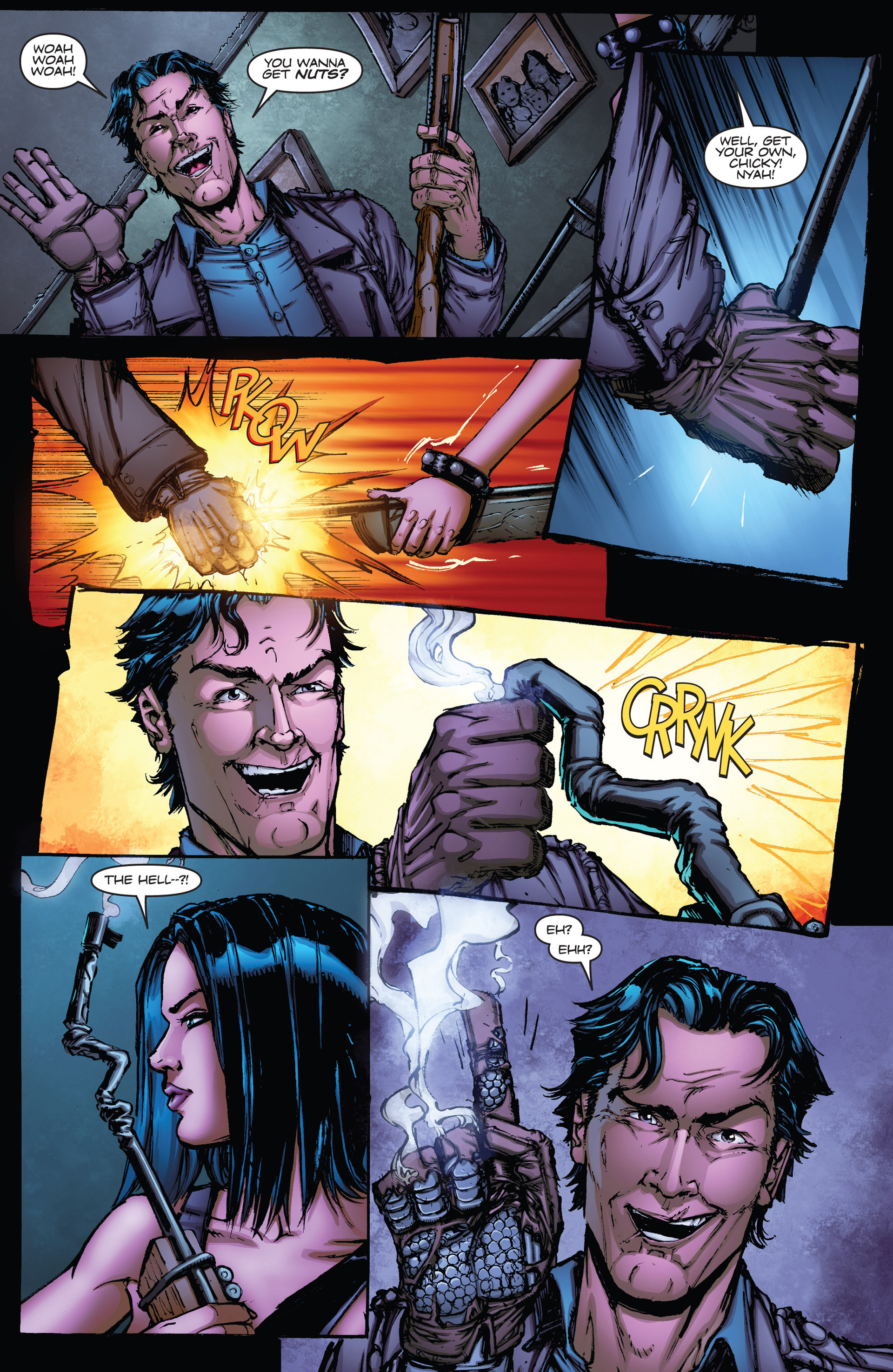 Read online Army of Darkness vs. Hack/Slash comic -  Issue #1 - 11