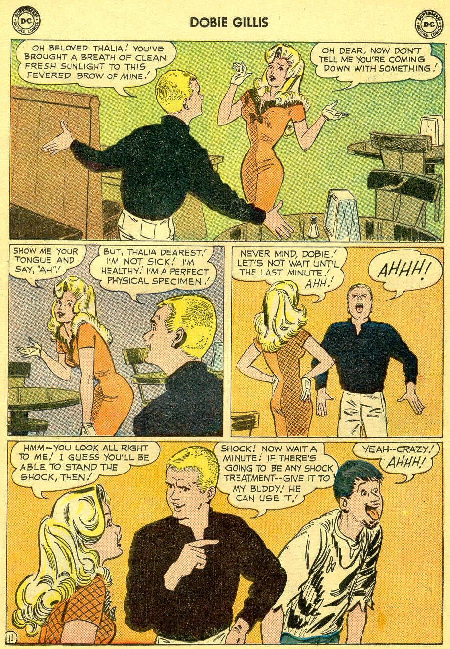 Many Loves of Dobie Gillis issue 4 - Page 15