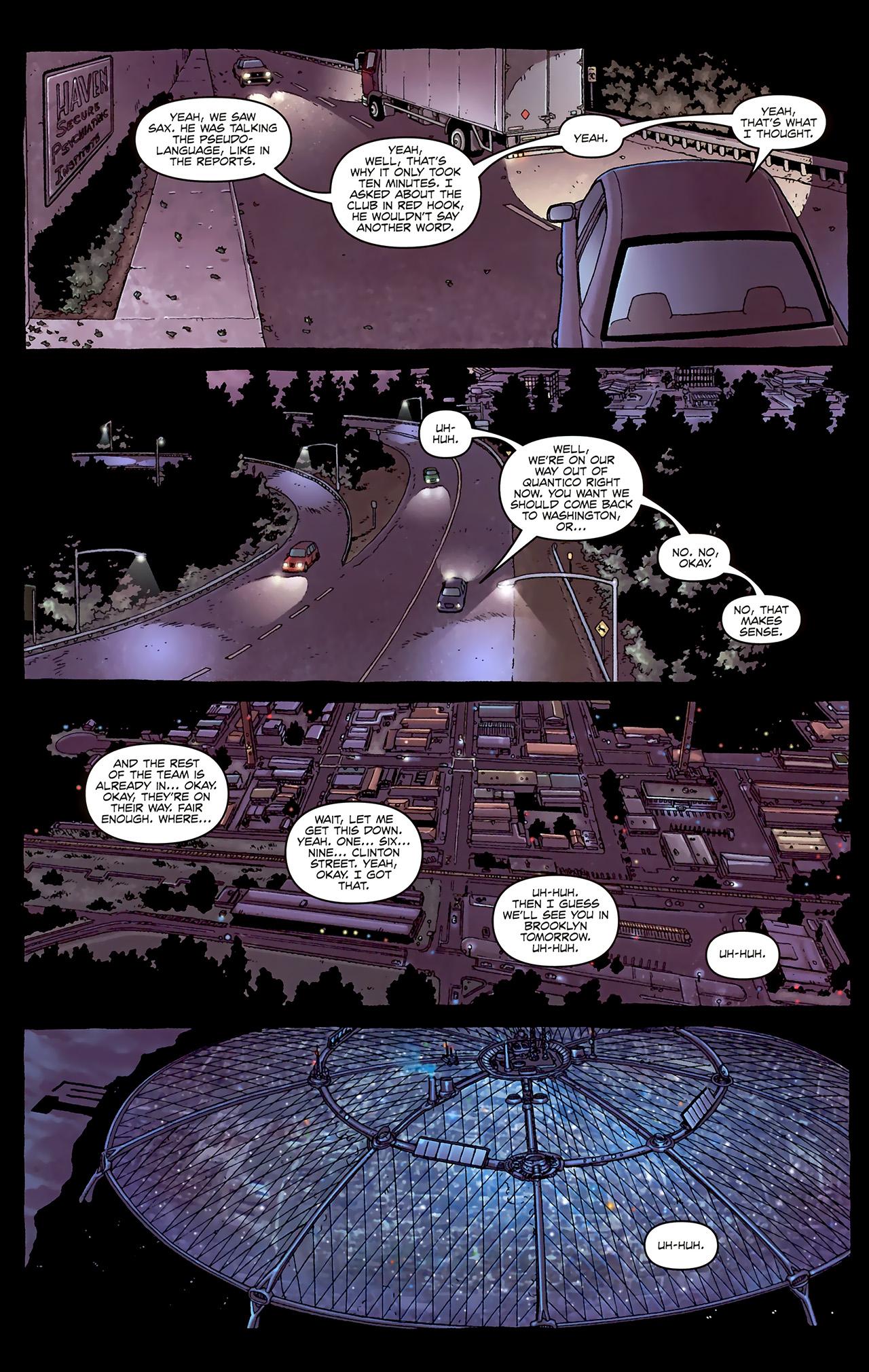 Read online Alan Moore's Neonomicon comic -  Issue #1 - 19