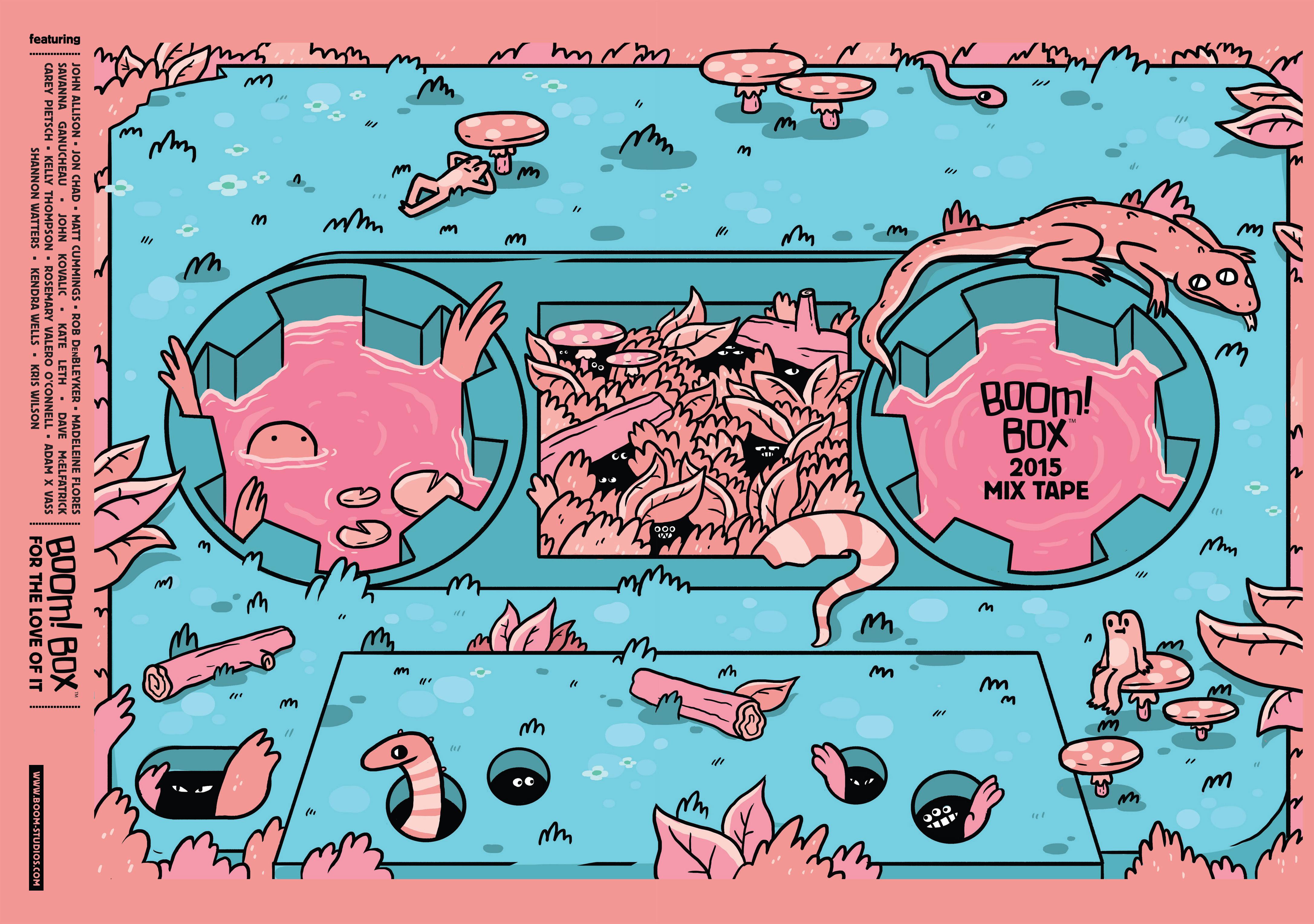 BOOM Box 2015 Mix Tape Full