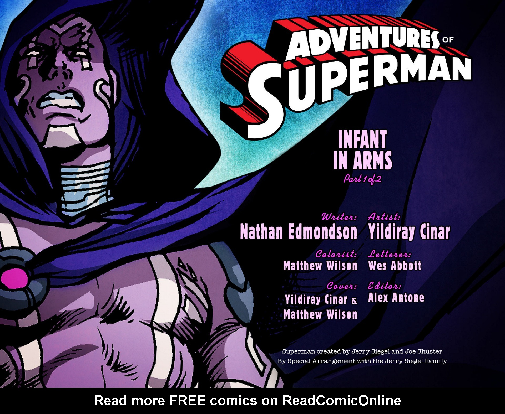 Read online Adventures of Superman [I] comic -  Issue #13 - 2