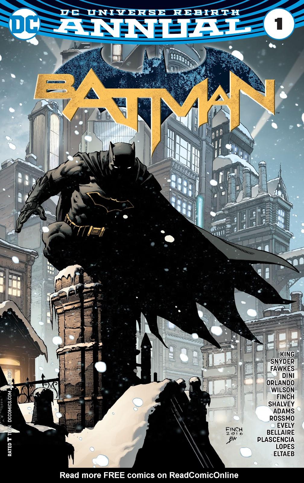 Batman (2016) Annual 1 Page 1