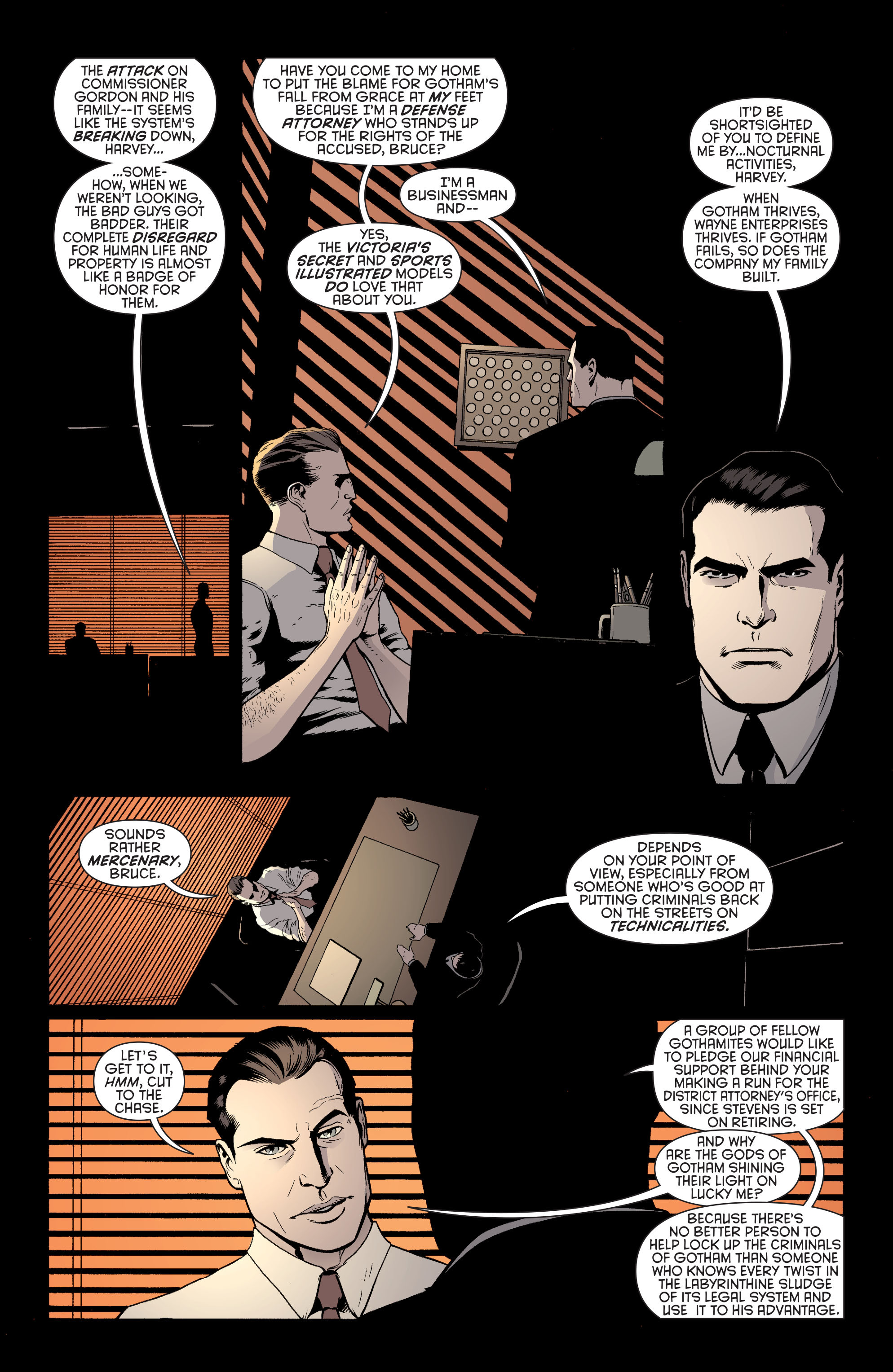 Read online Batman and Robin (2011) comic -  Issue #27 - Batman and Two-Face - 17