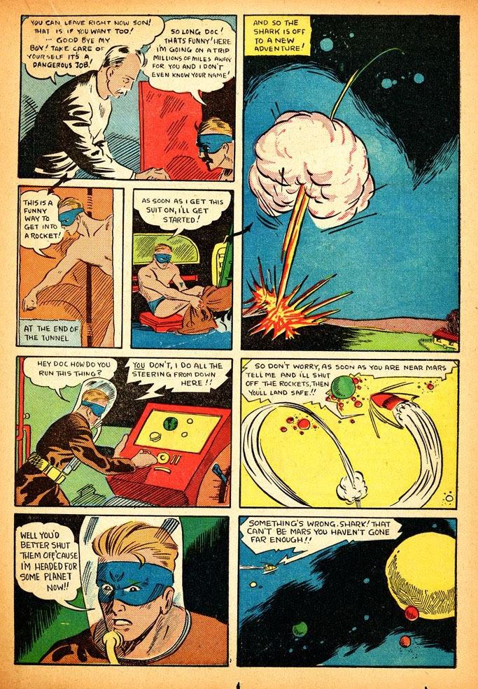 Read online Amazing Man Comics comic -  Issue #12 - 37