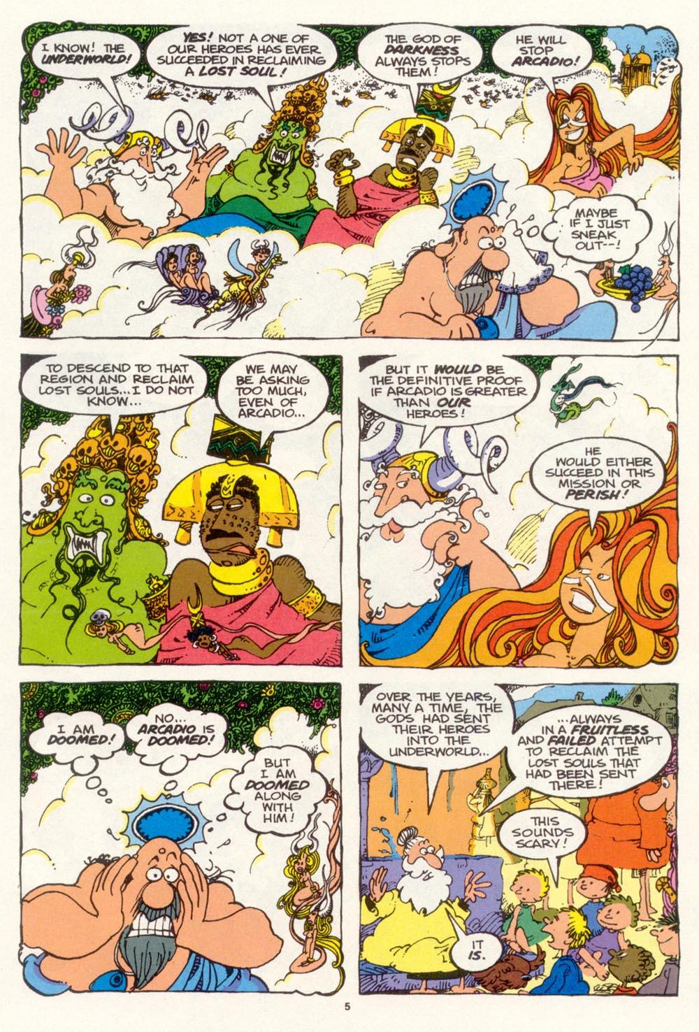 Read online Sergio Aragonés Groo the Wanderer comic -  Issue #99 - 6