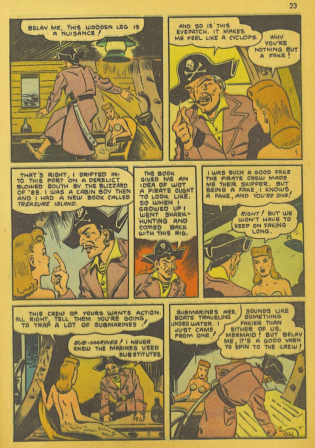 Read online Super-Magician Comics comic -  Issue #10 - 23