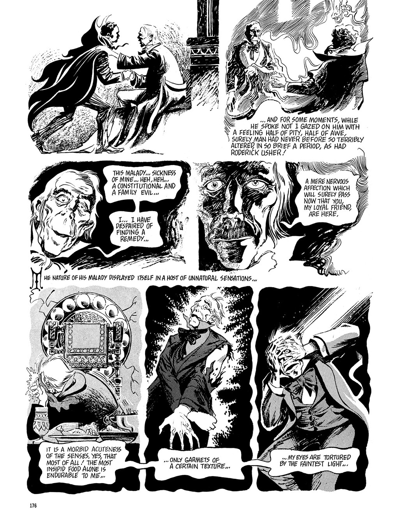 Read online Eerie Archives comic -  Issue # TPB 4 - 176