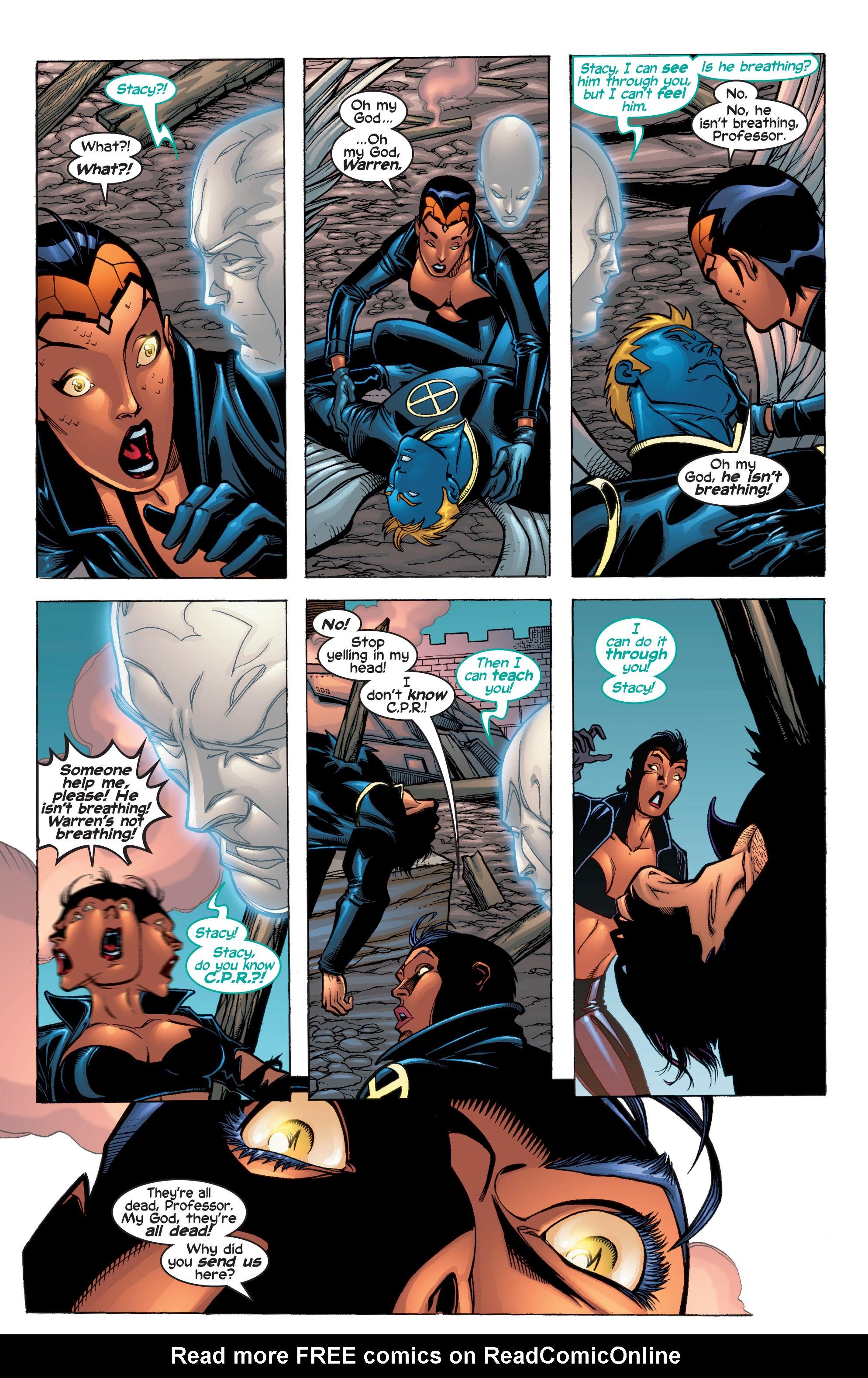 Read online Uncanny X-Men (1963) comic -  Issue #410 - 20