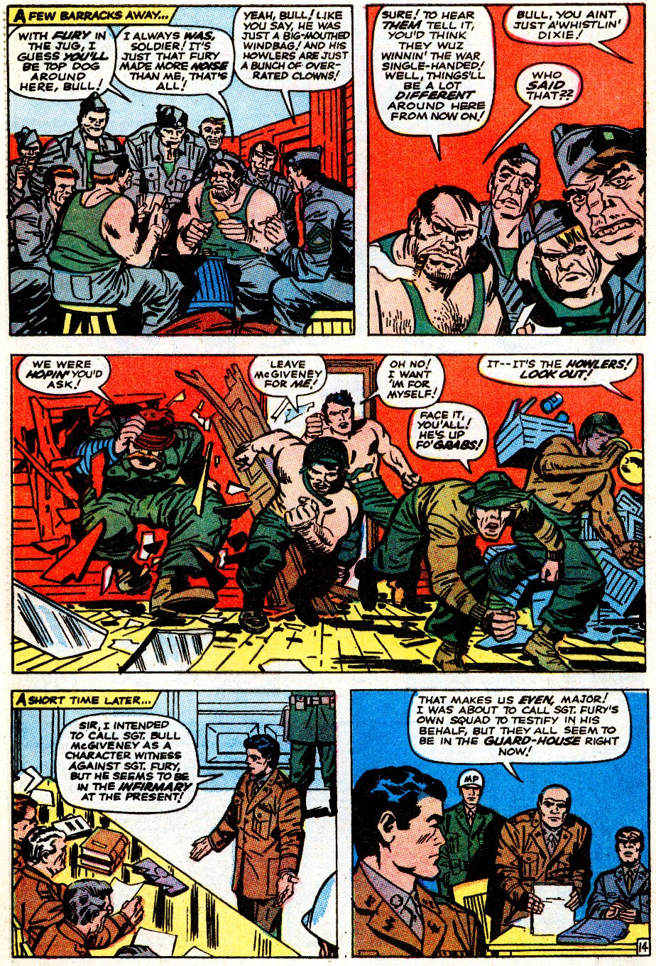 Read online Sgt. Fury comic -  Issue # _Special 5 - 54