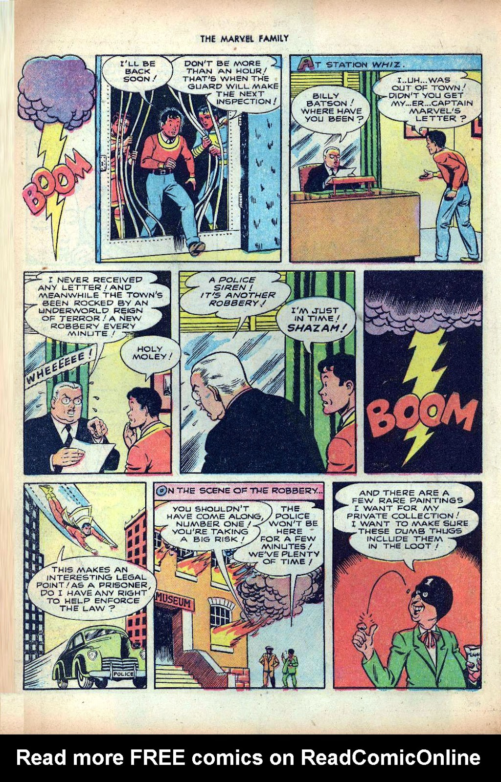 The Marvel Family issue 25 - Page 10