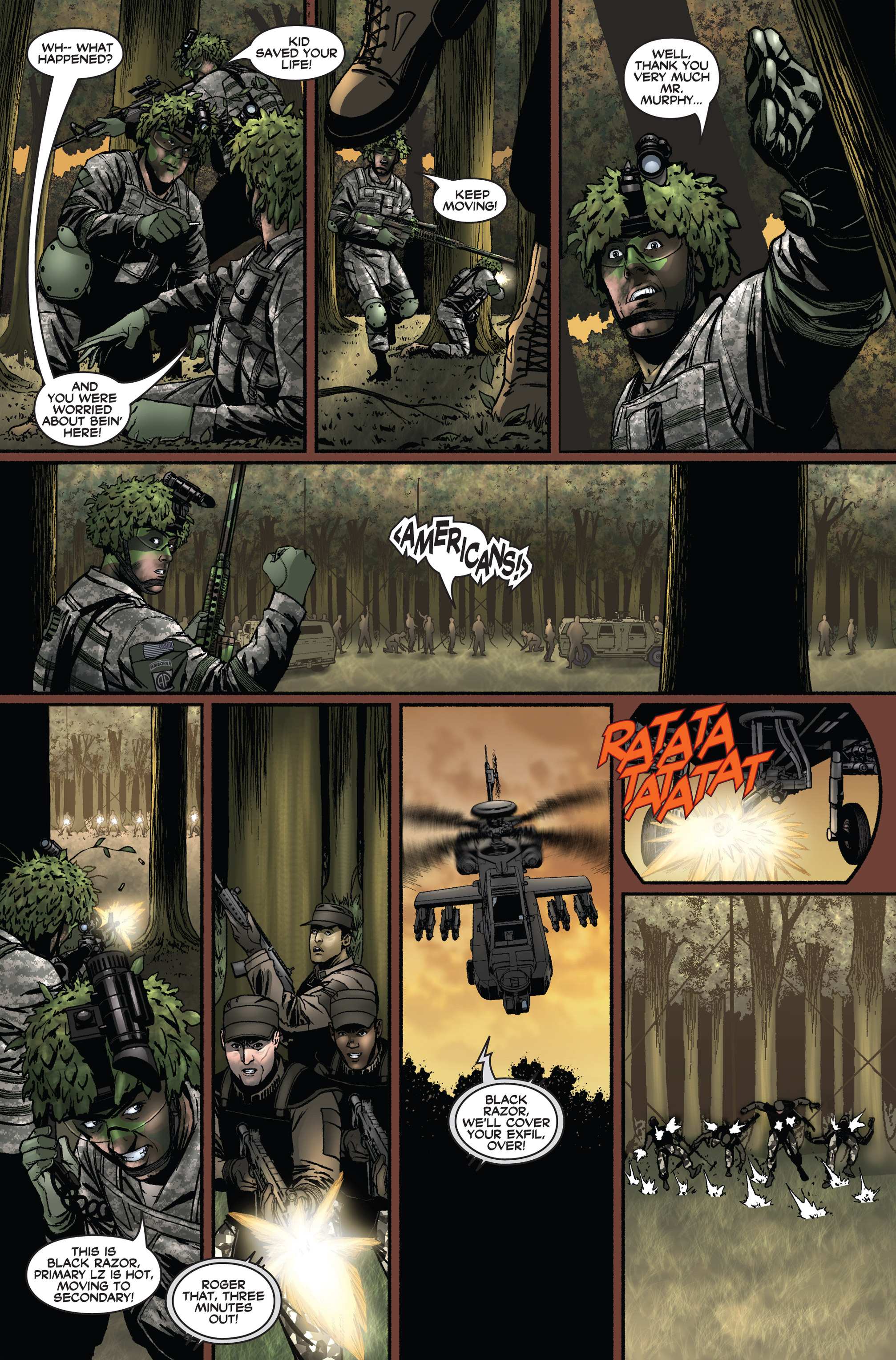 Read online America's Army comic -  Issue #1 - 20