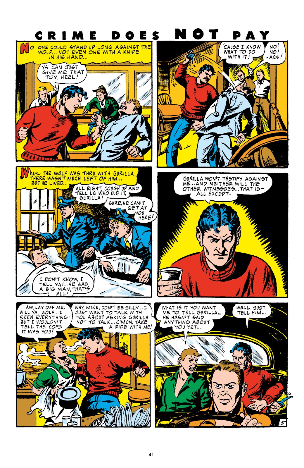 Read online Crime Does Not Pay Archives comic -  Issue # TPB 4 (Part 1) - 41