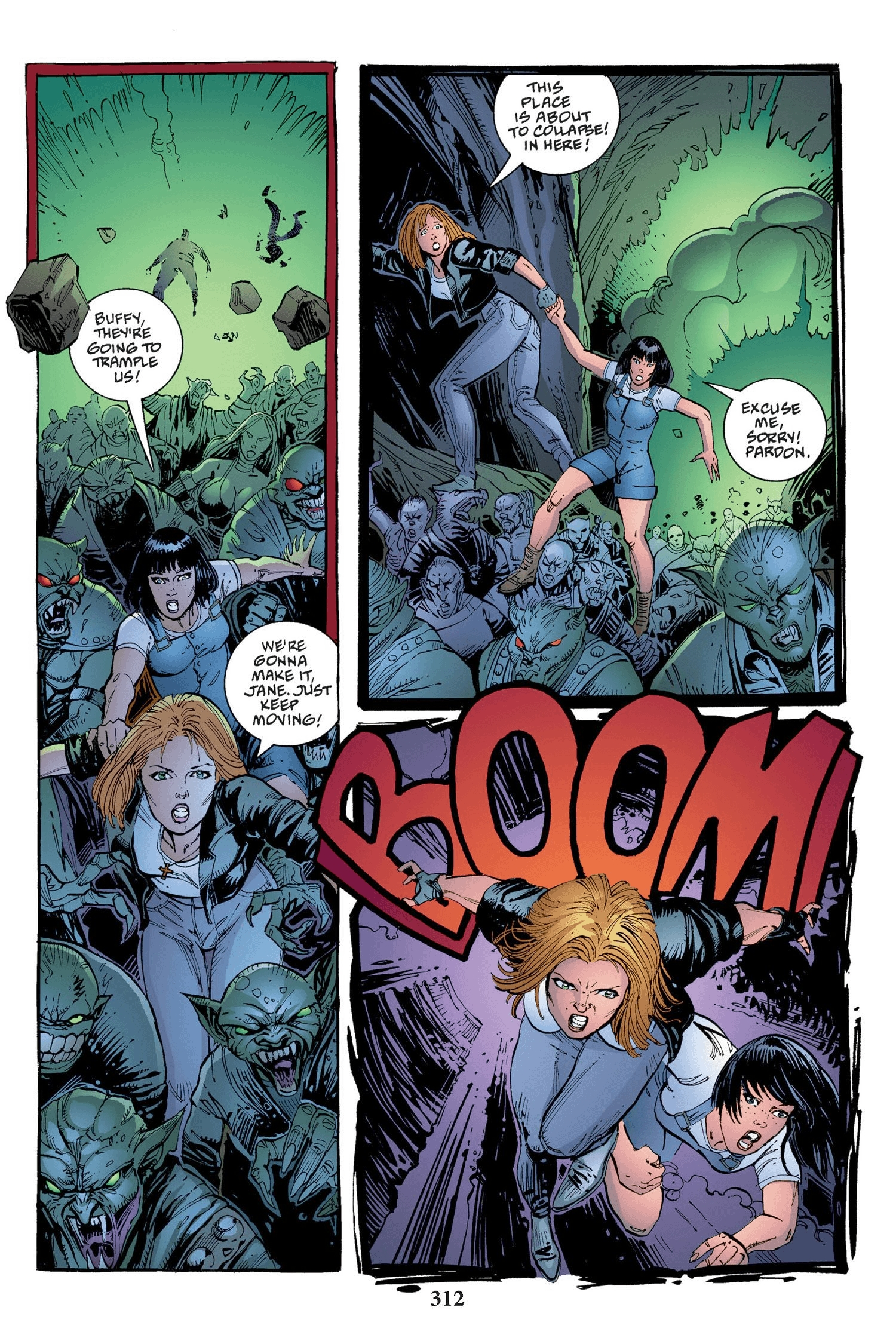 Read online Buffy the Vampire Slayer: Omnibus comic -  Issue # TPB 2 - 304