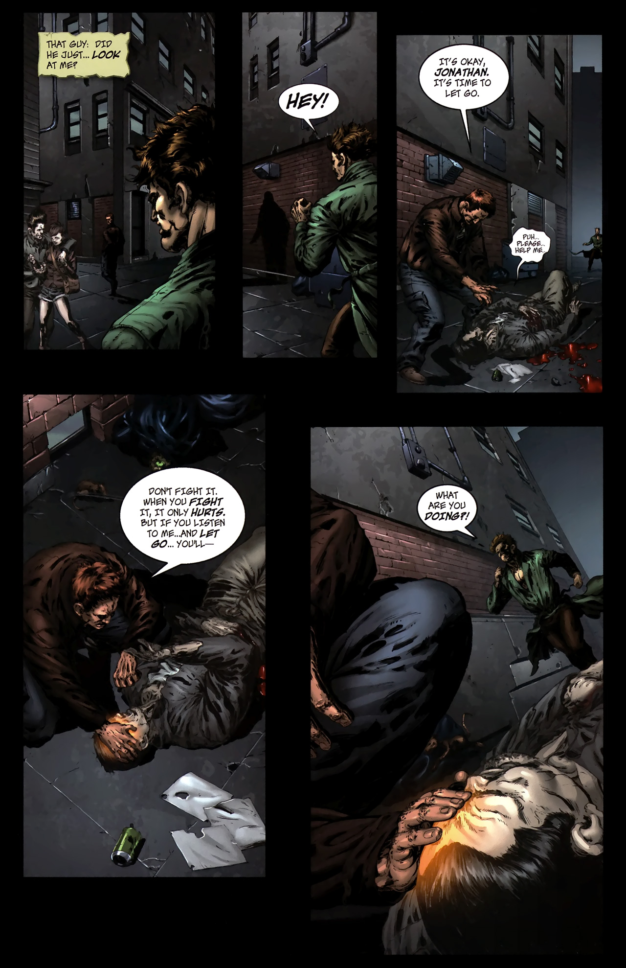Read online The Grim Ghost comic -  Issue #0 - 7