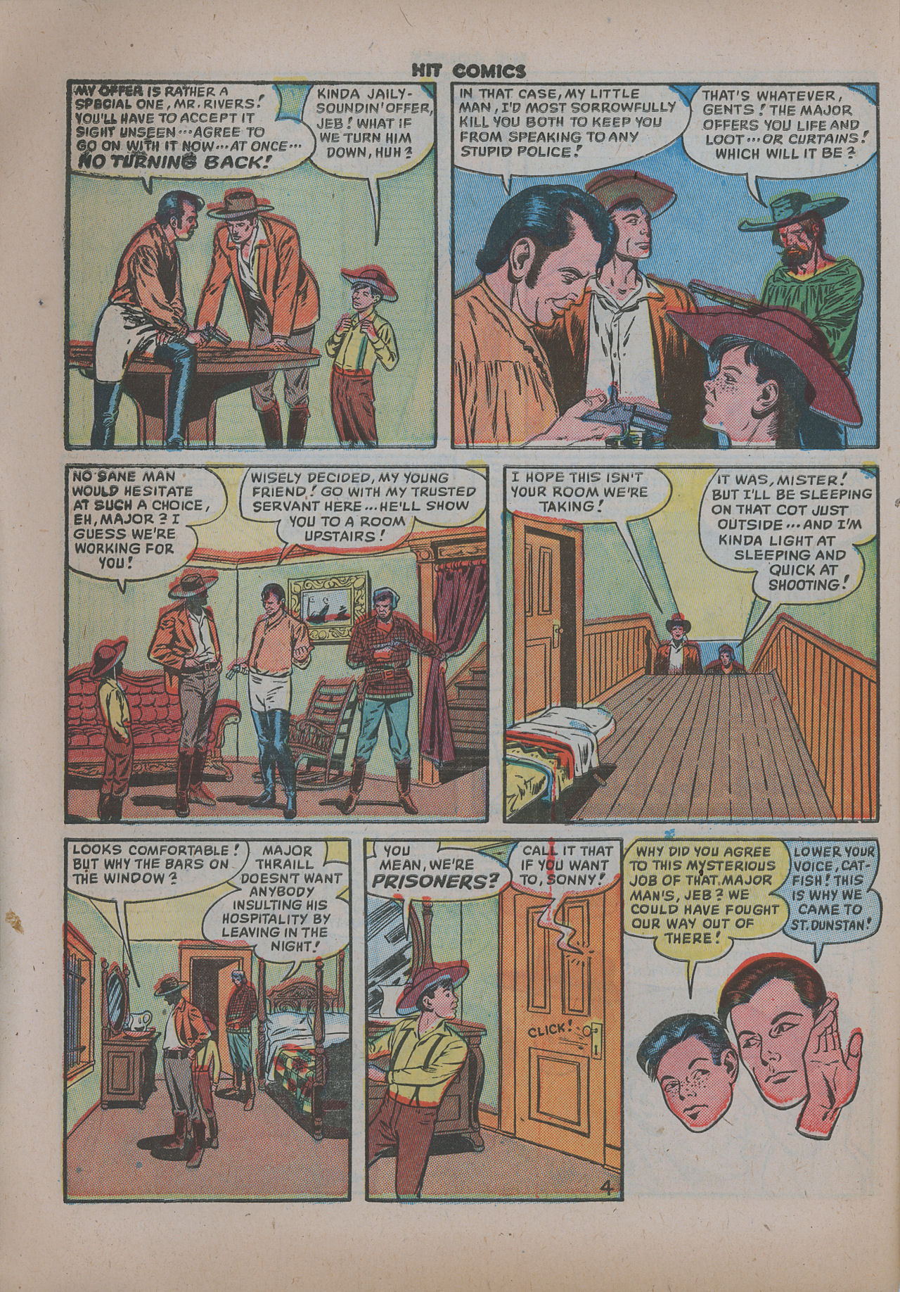Read online Hit Comics comic -  Issue #62 - 7
