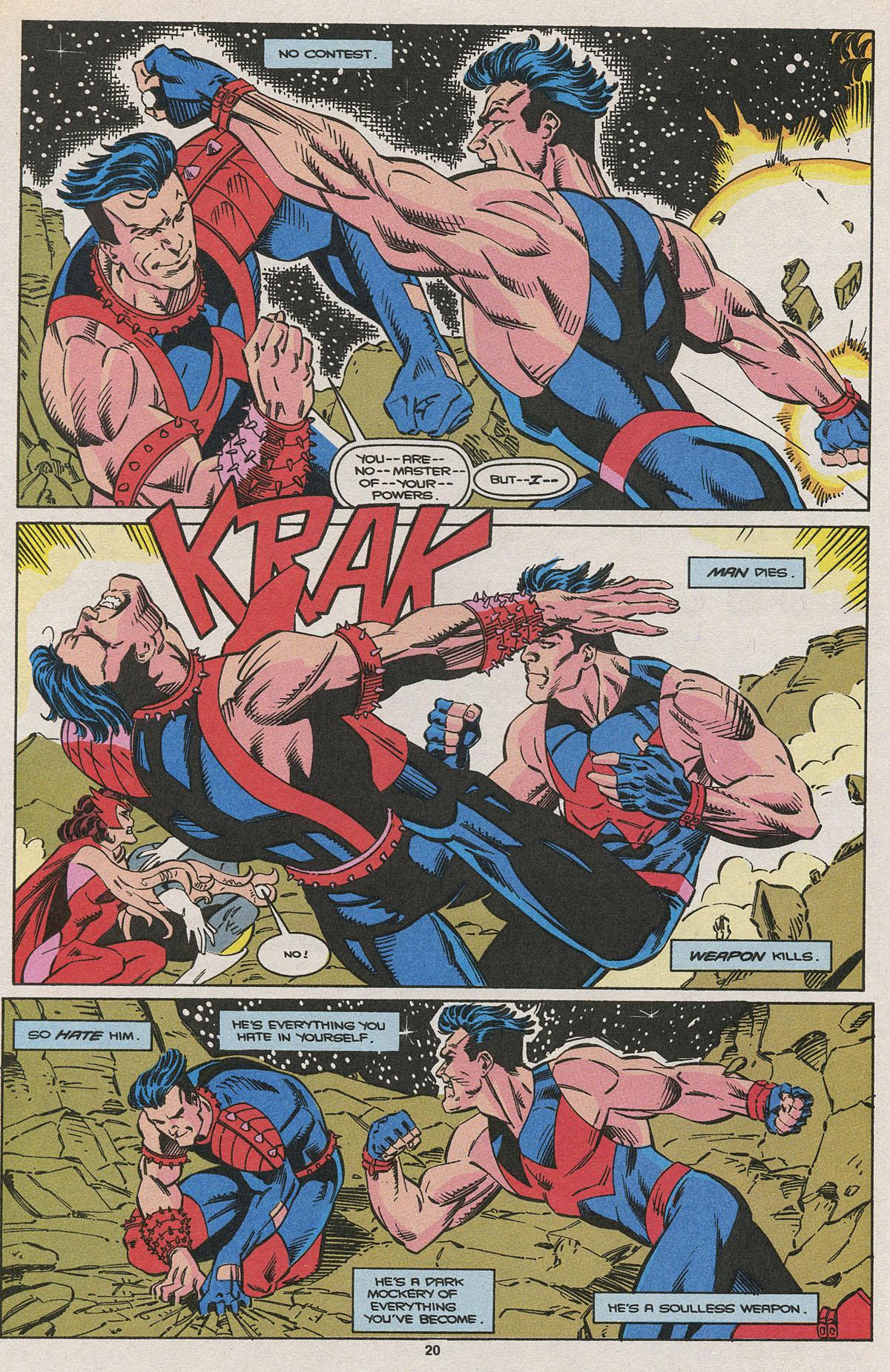 Read online Wonder Man (1991) comic -  Issue #15 - 14