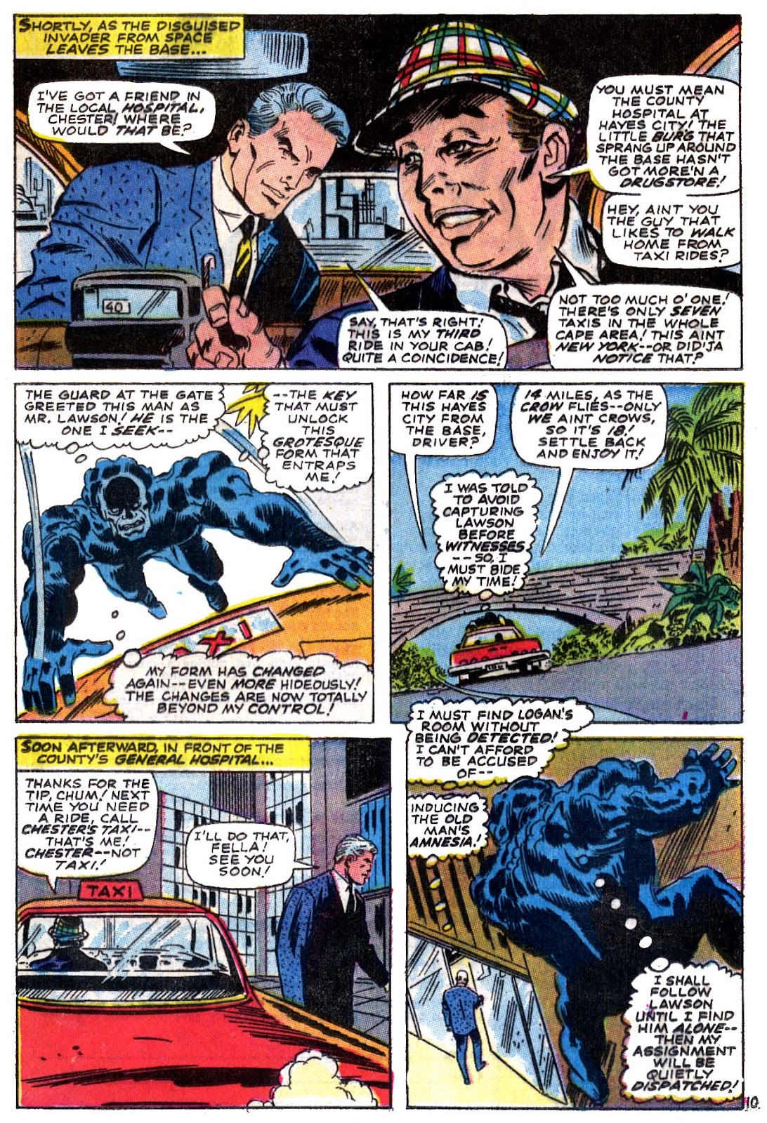 Captain Marvel (1968) issue 5 - Page 11