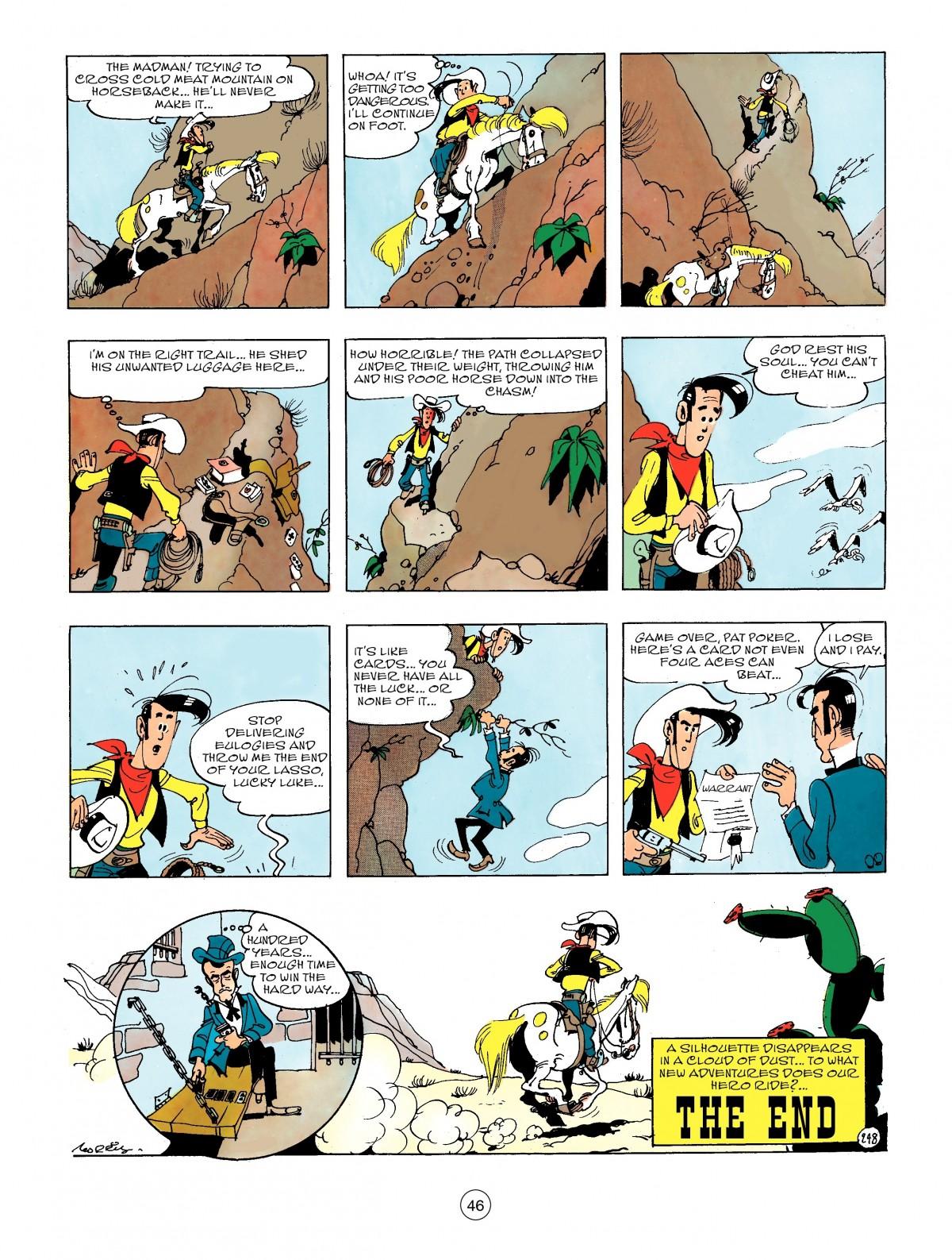 Read online A Lucky Luke Adventure comic -  Issue #44 - 46