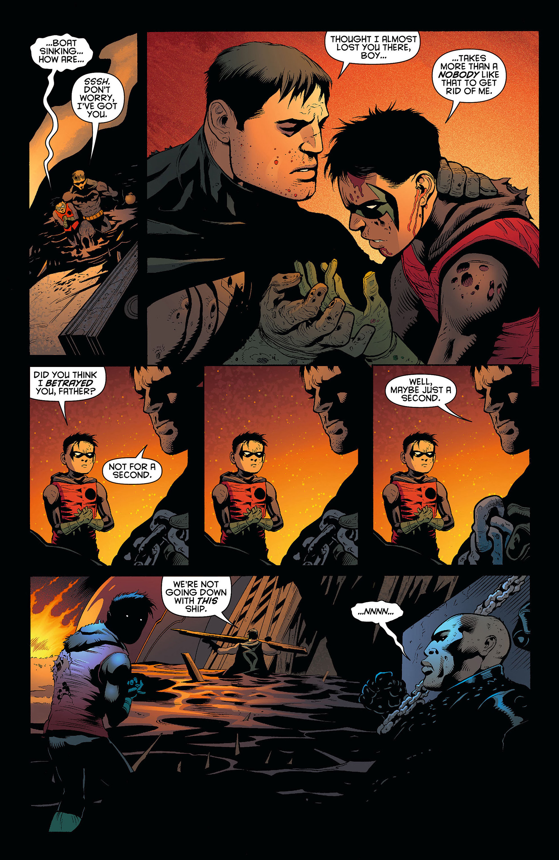 Read online Batman and Robin (2011) comic -  Issue #7 - 16