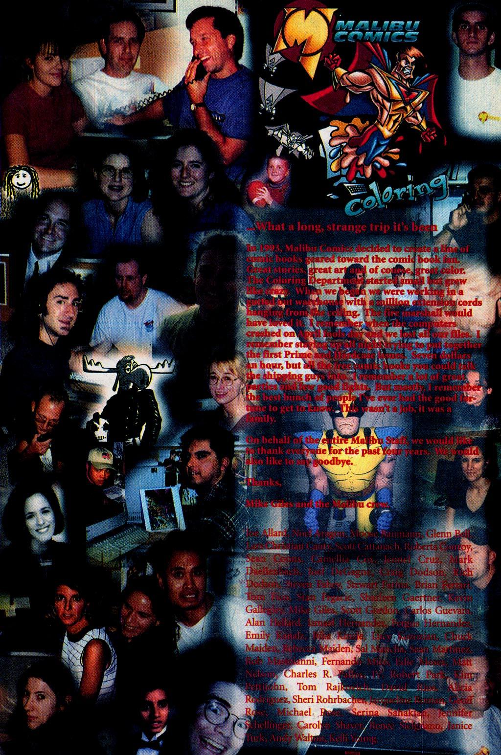 Read online UltraForce (1995) comic -  Issue #15 - 24
