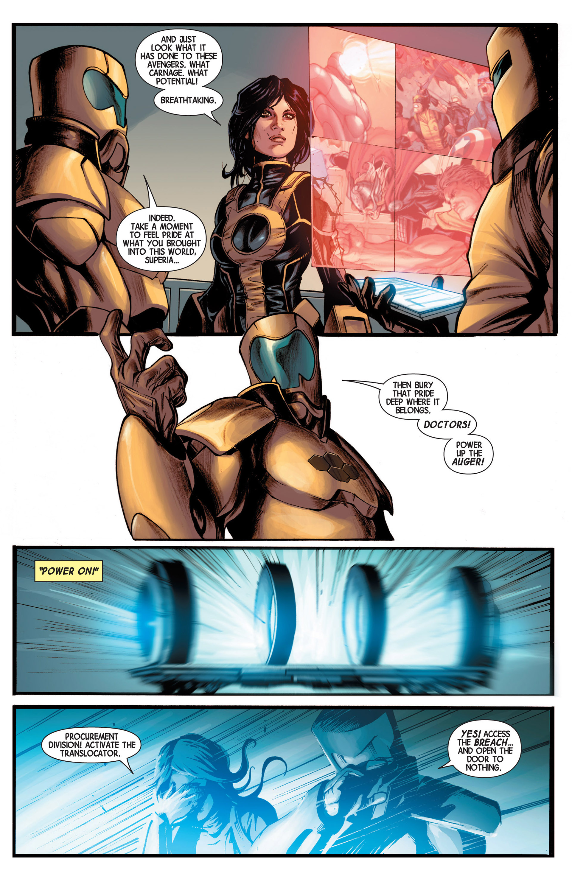 Read online Avengers (2013) comic -  Issue #16 - 23