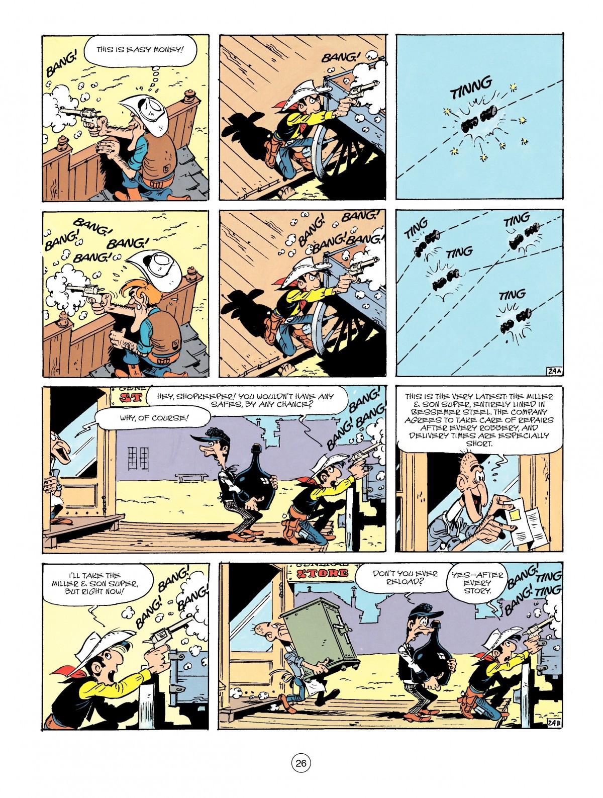 Read online A Lucky Luke Adventure comic -  Issue #41 - 26