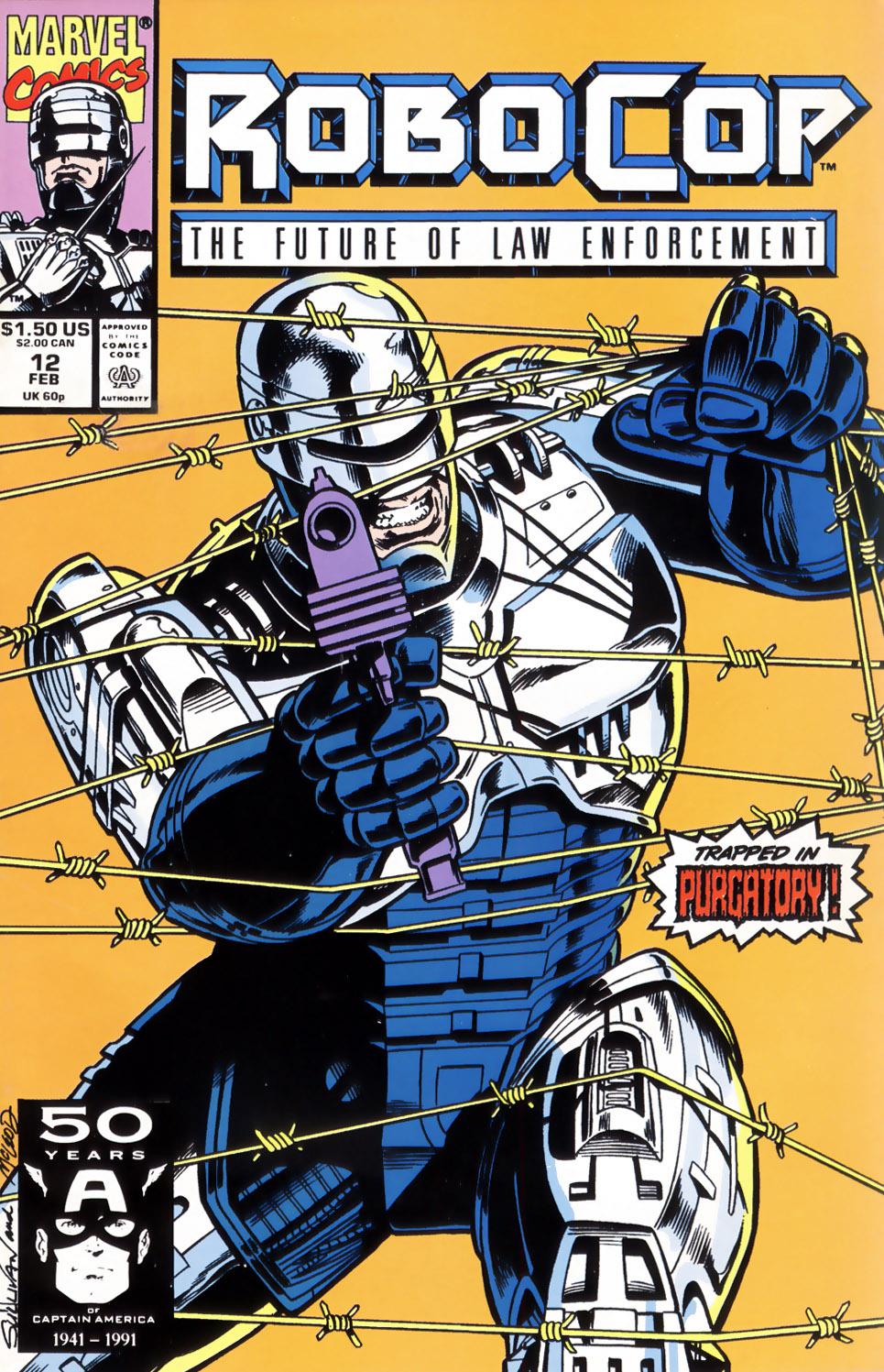 Read online Robocop (1990) comic -  Issue #12 - 1