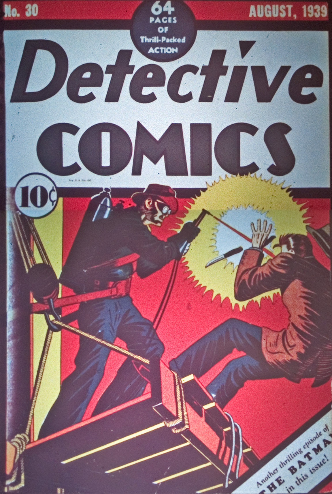 Read online Detective Comics (1937) comic -  Issue #30 - 1