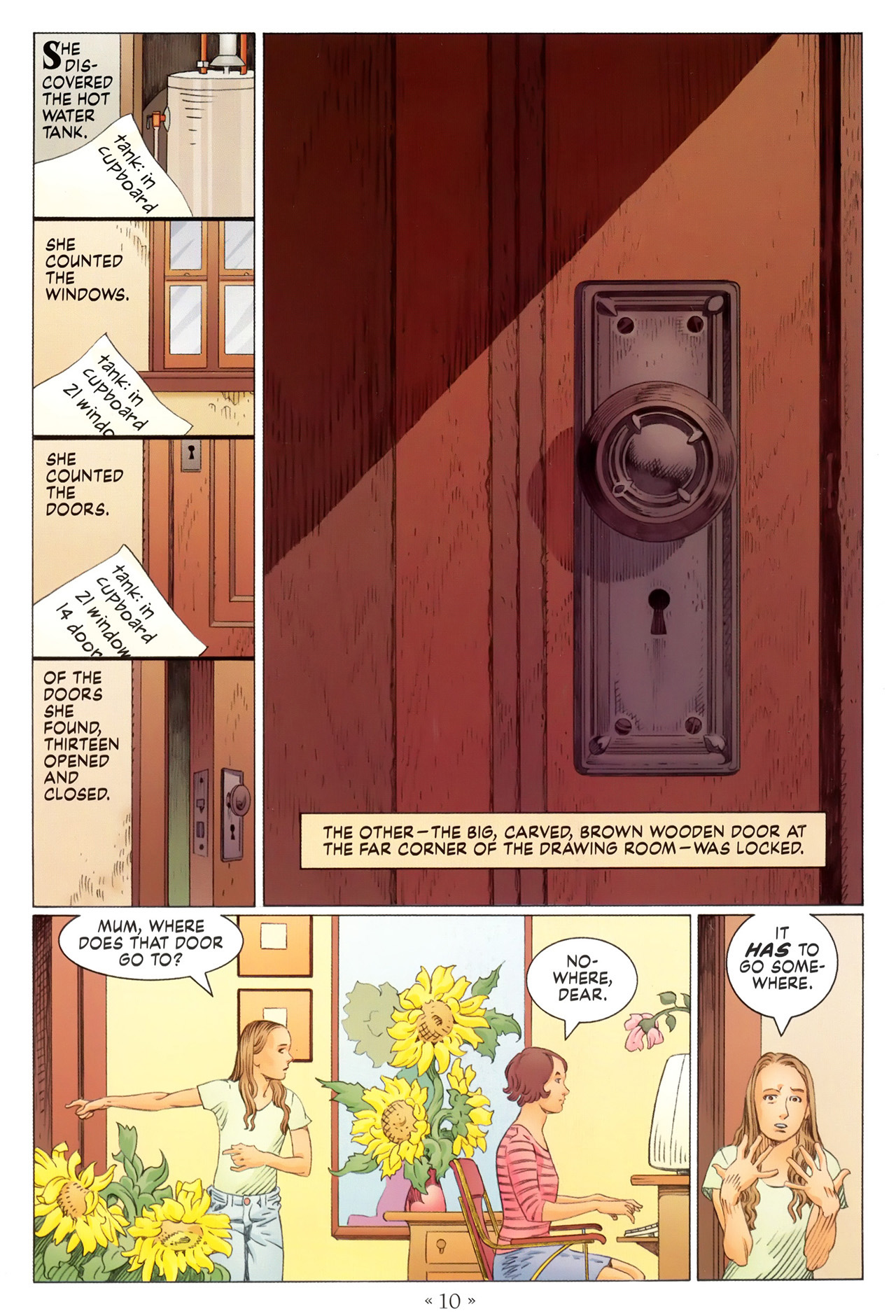 Read online Coraline comic -  Issue #1 - 16