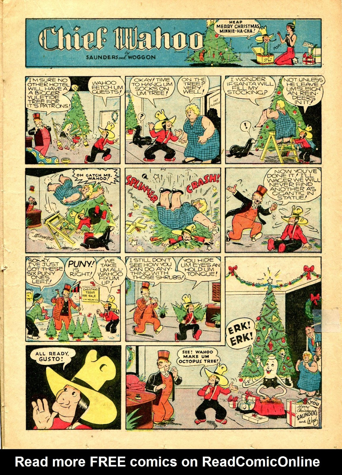 Read online Famous Funnies comic -  Issue #77 - 32