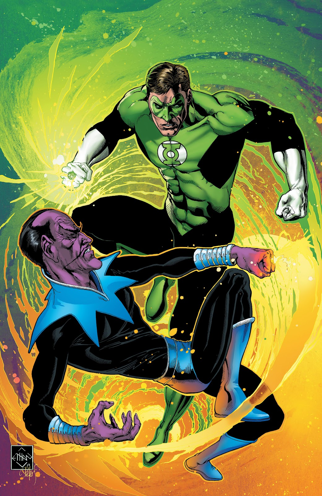 Read online Green Lantern by Geoff Johns comic -  Issue # TPB 1 (Part 2) - 12