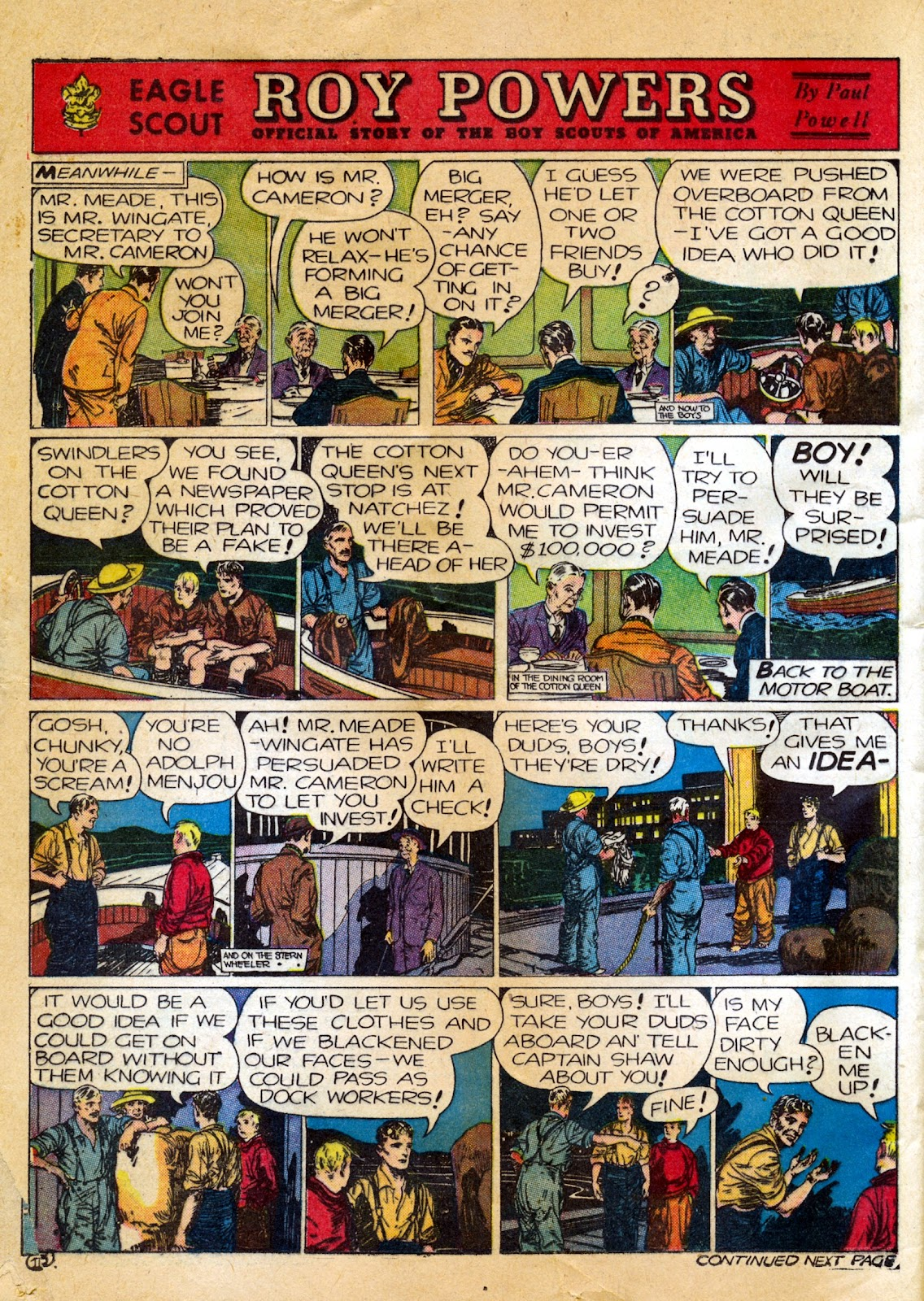 Read online Famous Funnies comic -  Issue #82 - 44